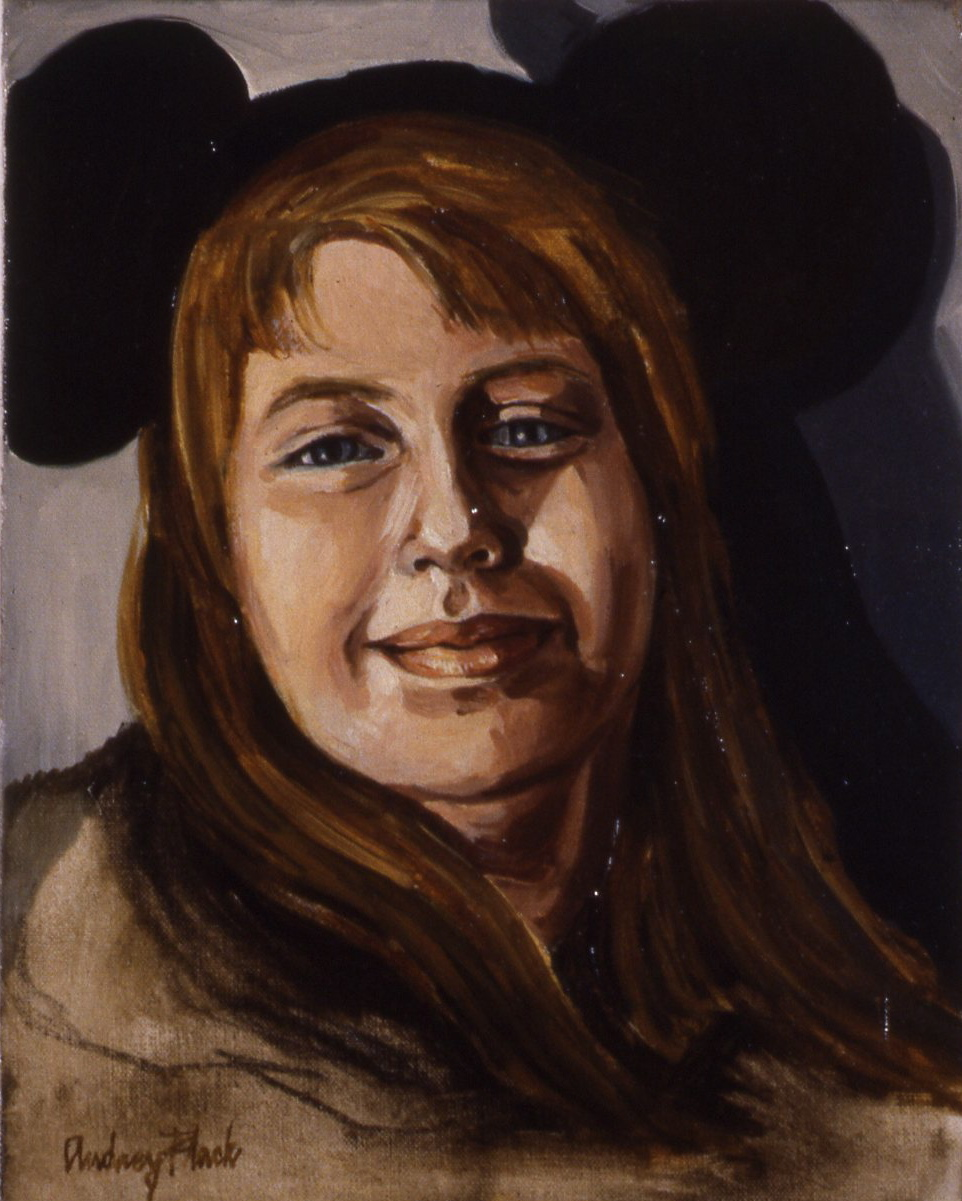 """Hannah Marie (Mickey Mouse Hat), 1965, 10x8"""""""