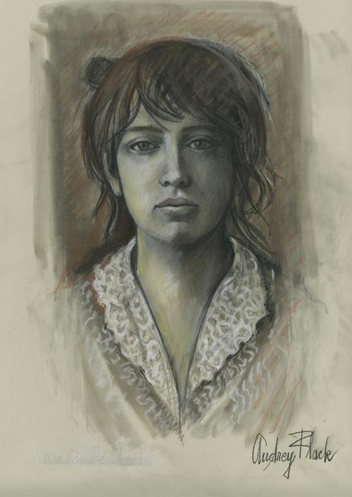"""Camille Claudel, 2011, 18.5"""" x 13.5"""""""