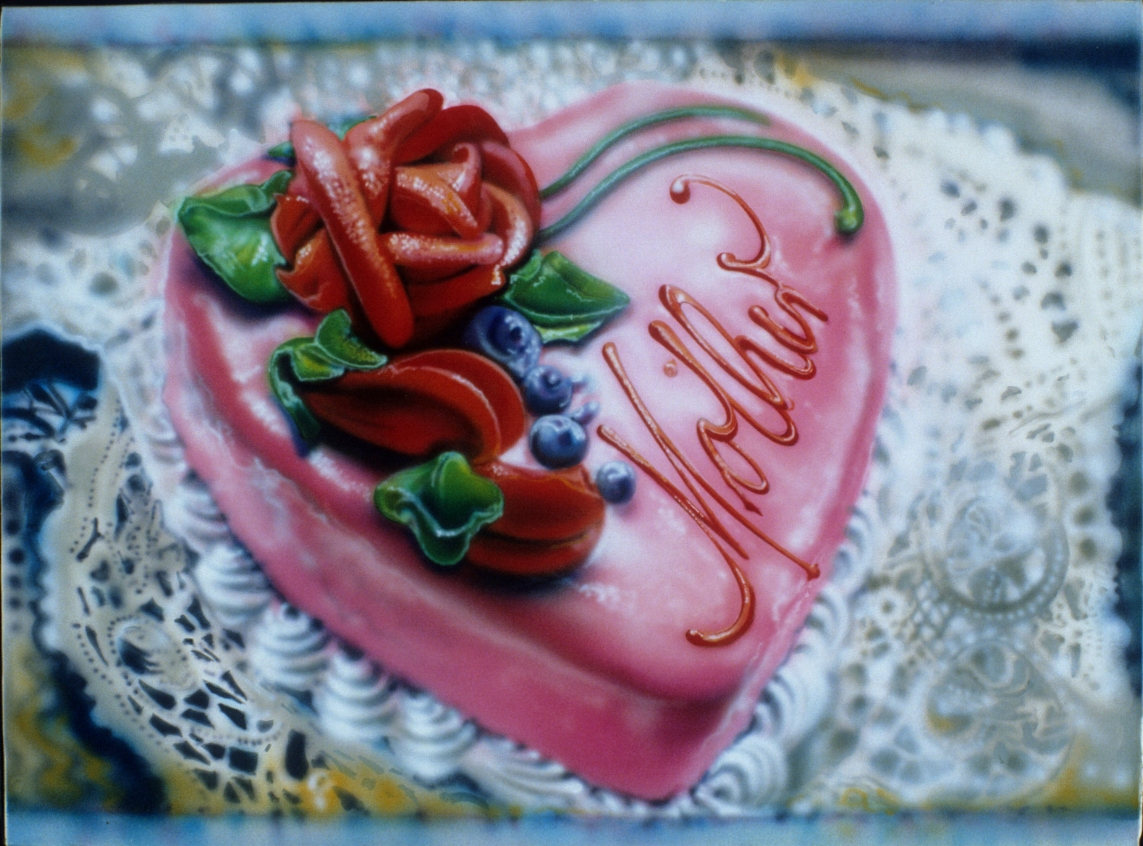 Flack_Mother Cake_1976_oil and acrylic on canvas.jpg