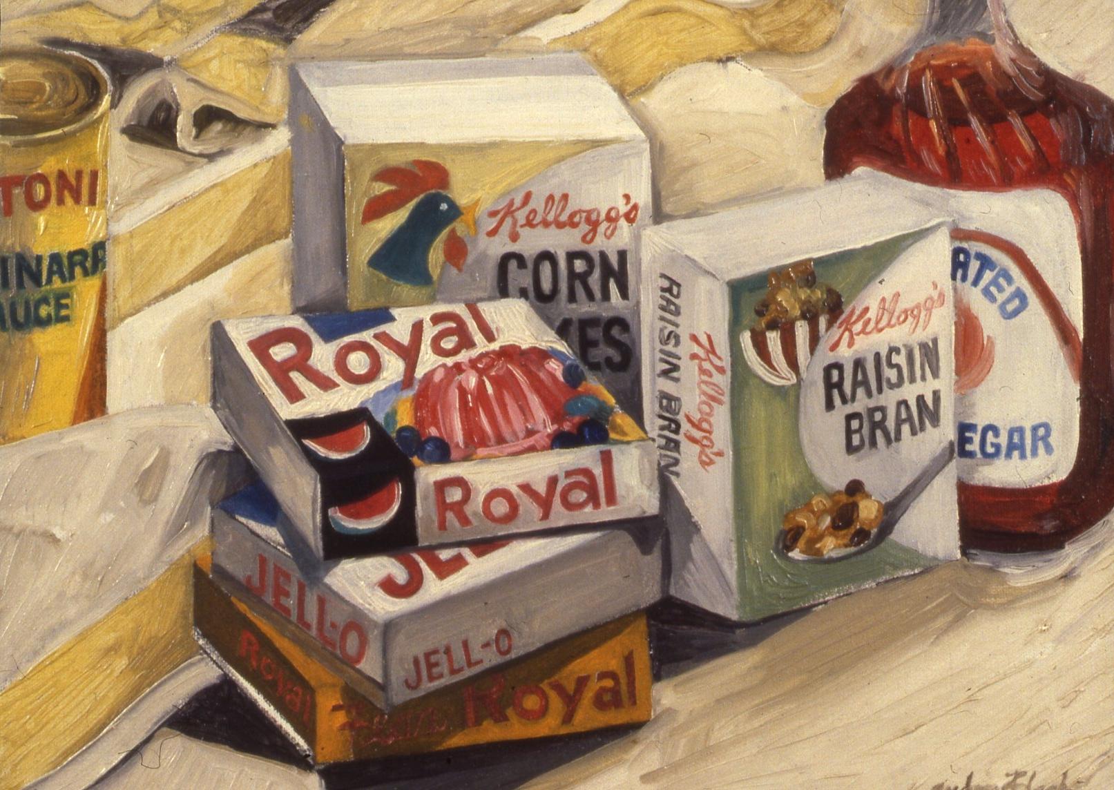 "Royal Jello, 1962, 9x12"""