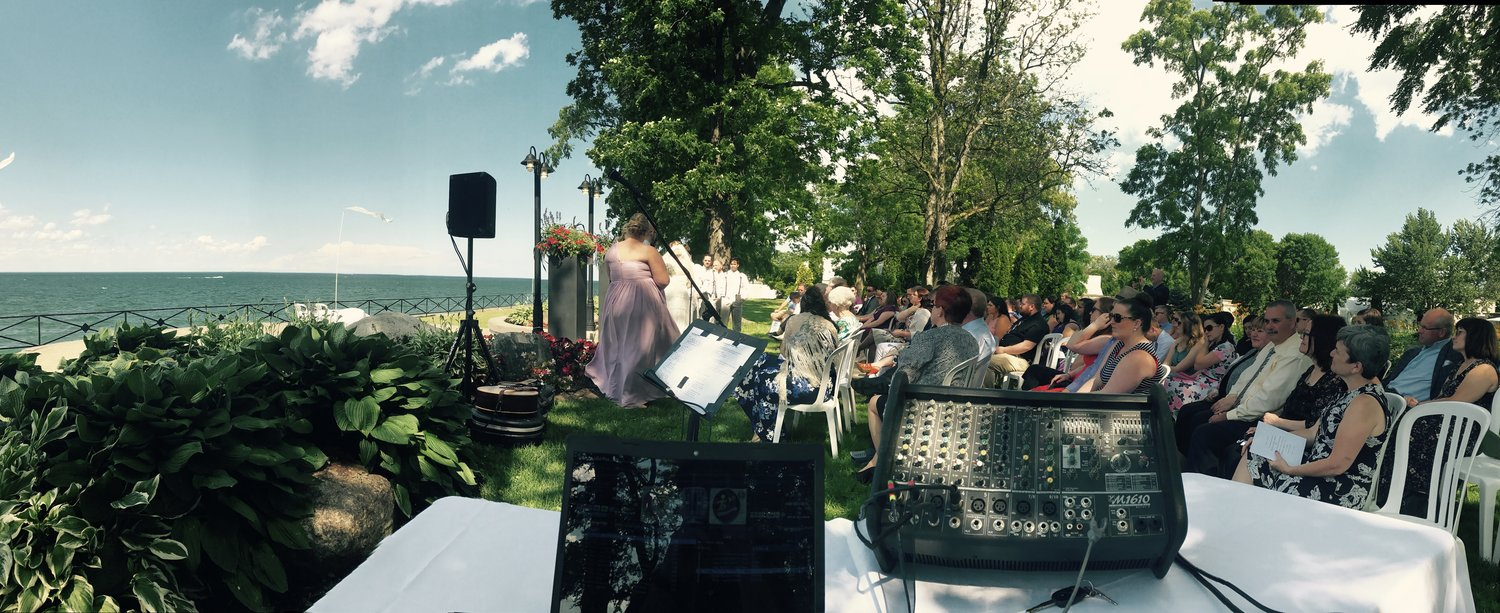 Hunter Wedding - Liuna Gardens, Stoney Creek