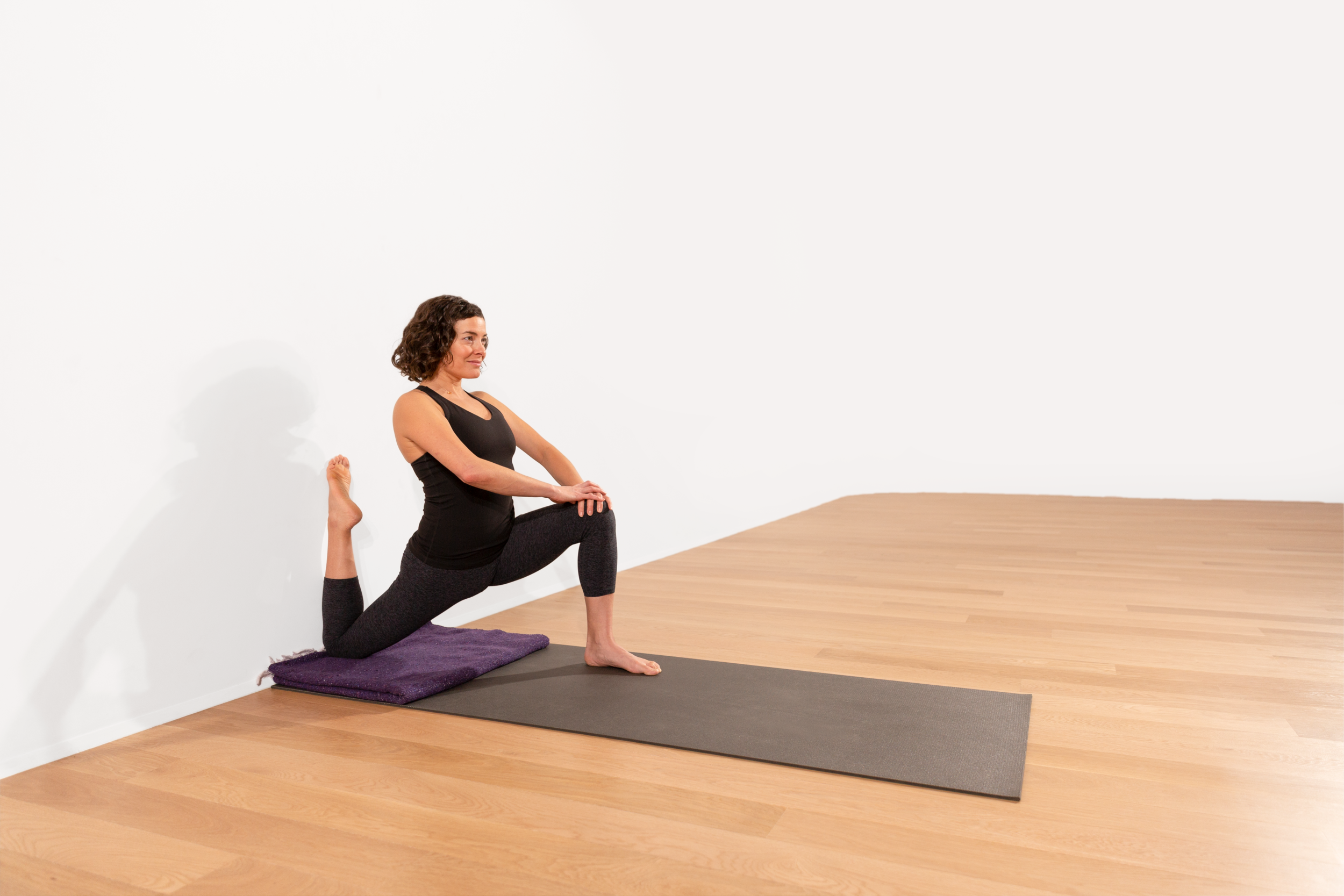 Poses that open the quads and hip flexors should be practiced almost daily if you want to have a wheel pose that doesn't feel gripped with tightness!