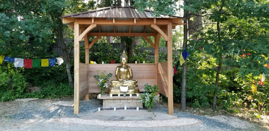 Mountain Stream's New Amitabha Buddha Temple