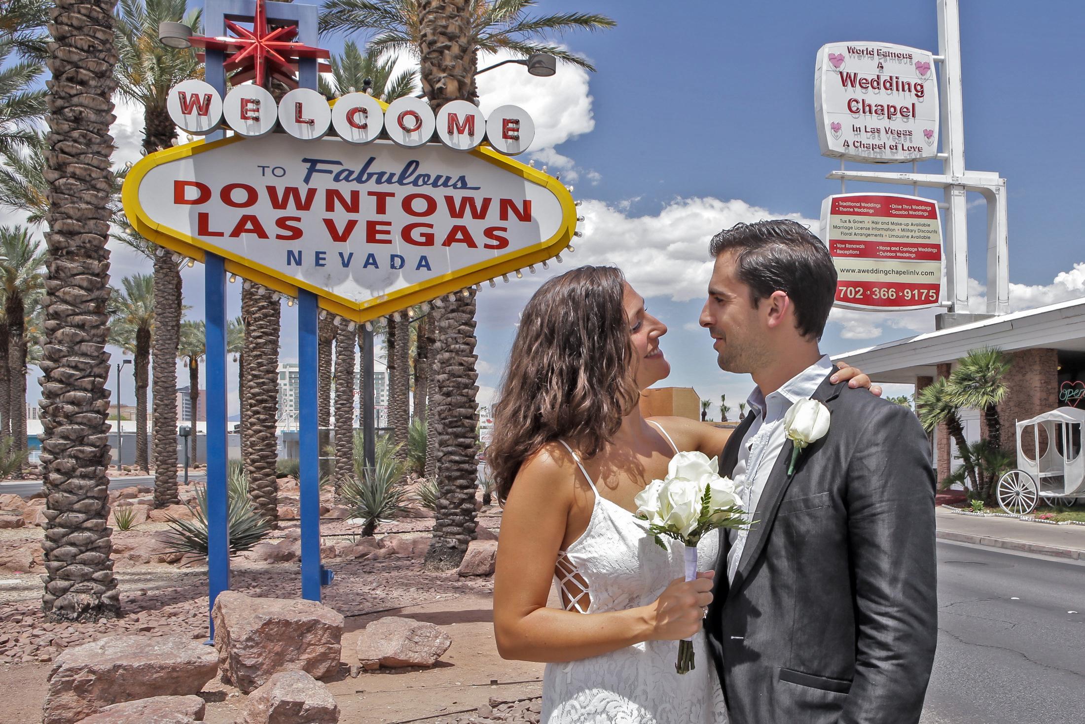 Downtown Las Vegas Wedding Chapel