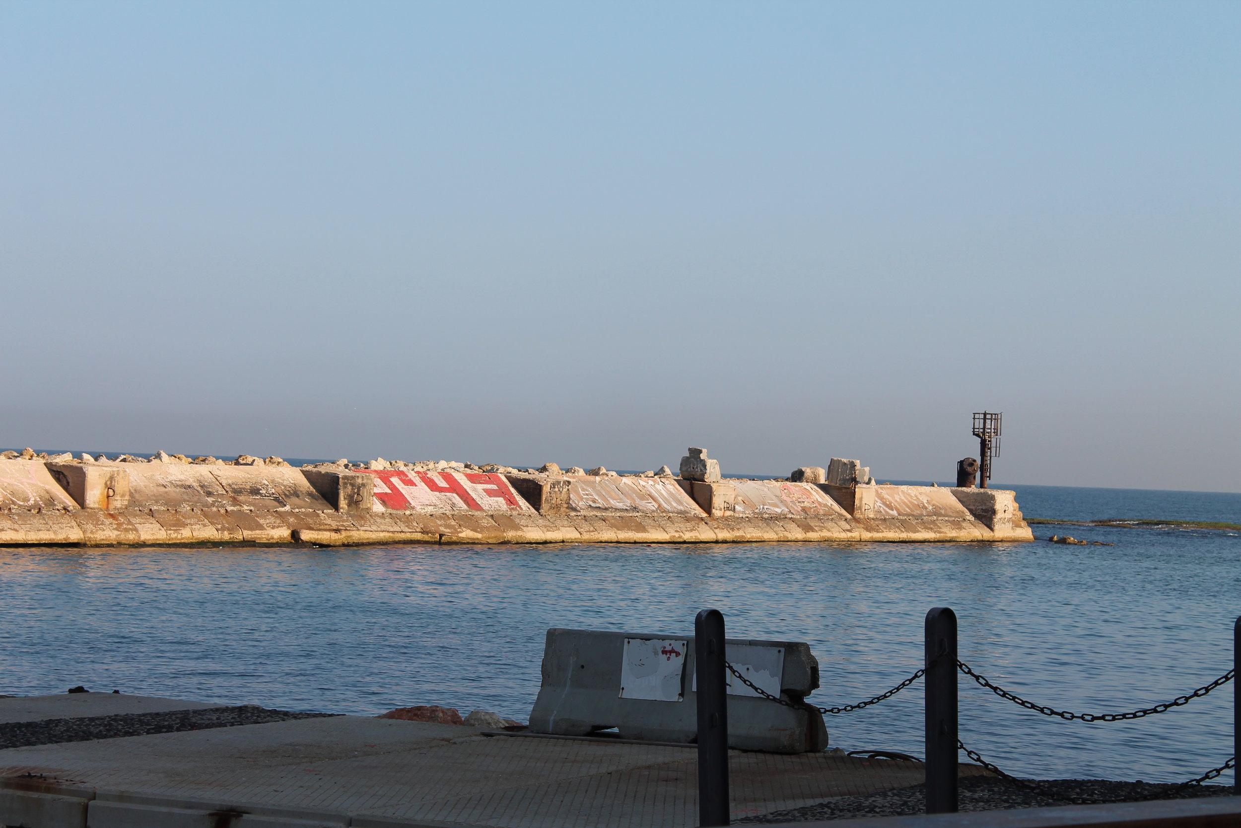 The harbor of ancient Joppa.