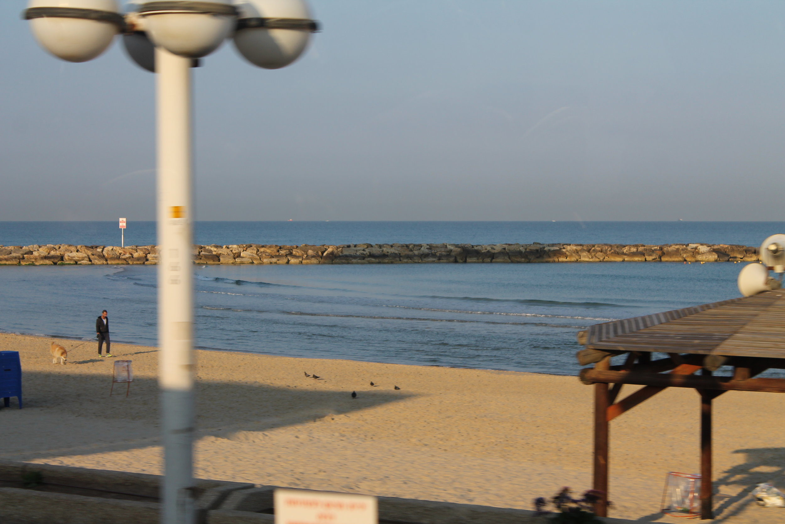The port of Jaffa.