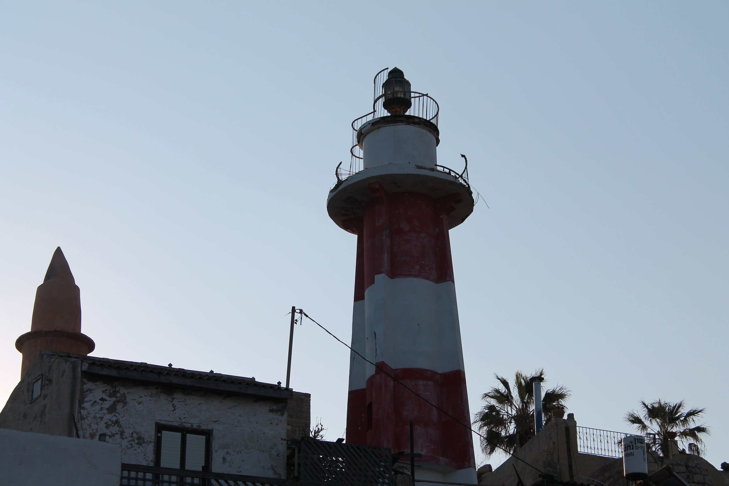 Lighthouse in Jaffa.