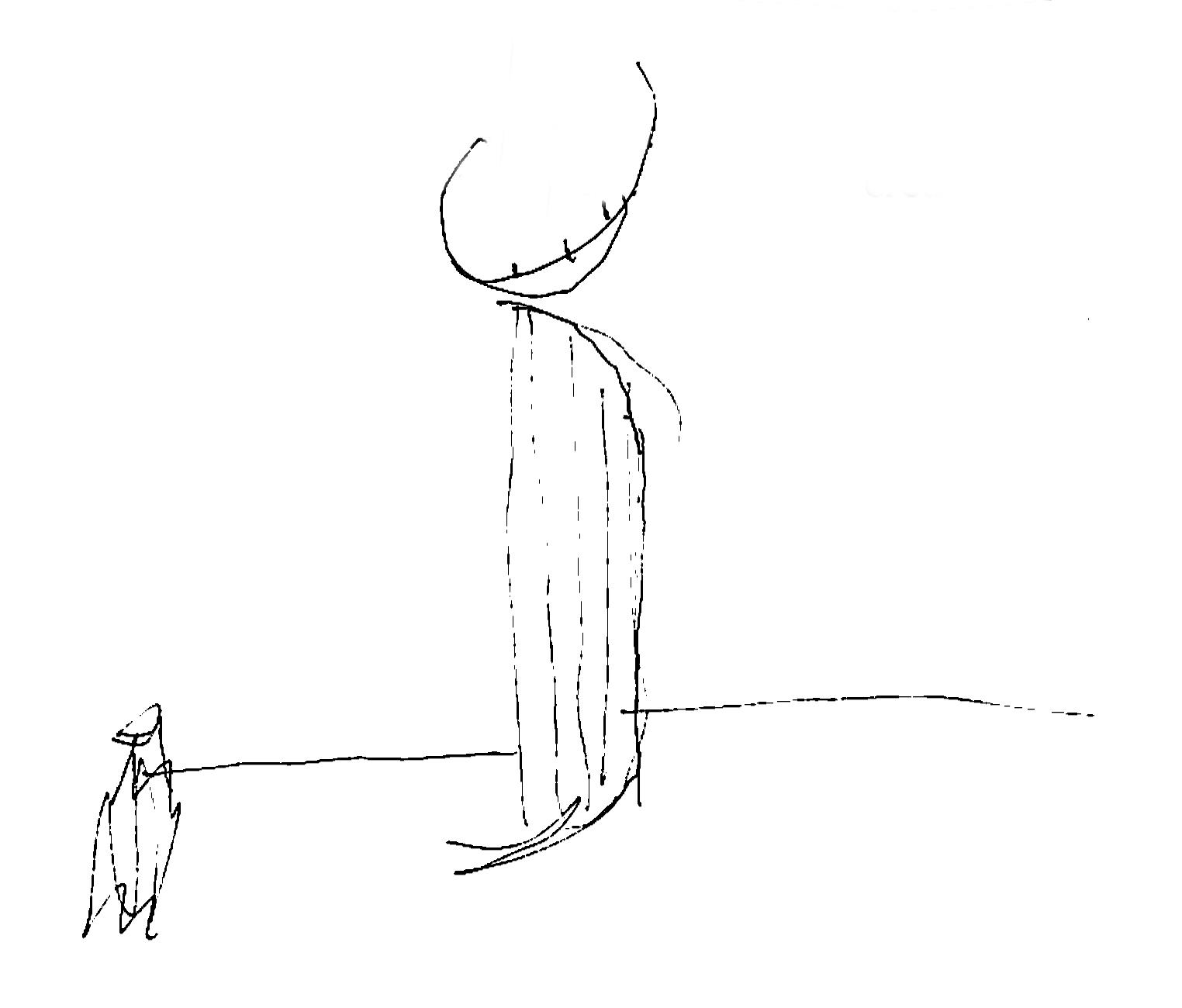 Concept sketch: Gestalt of curves
