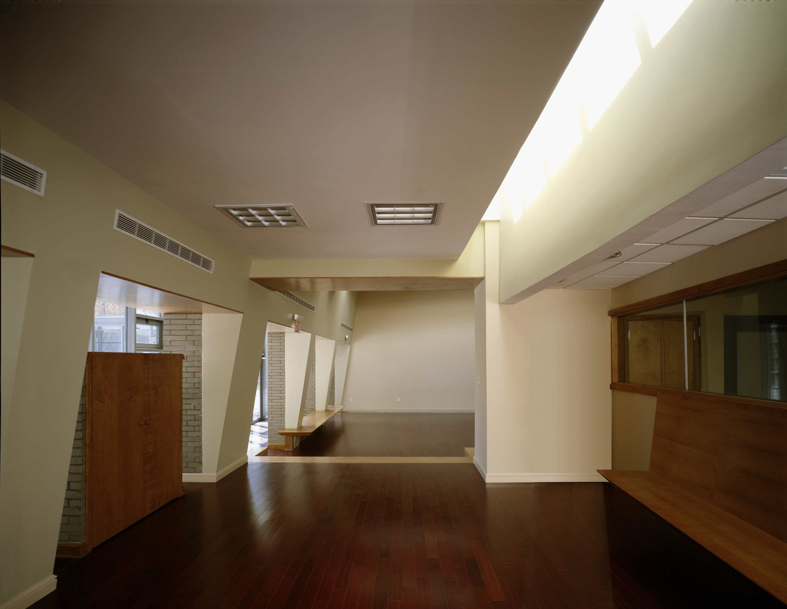 Billiard room looking towards meeting room