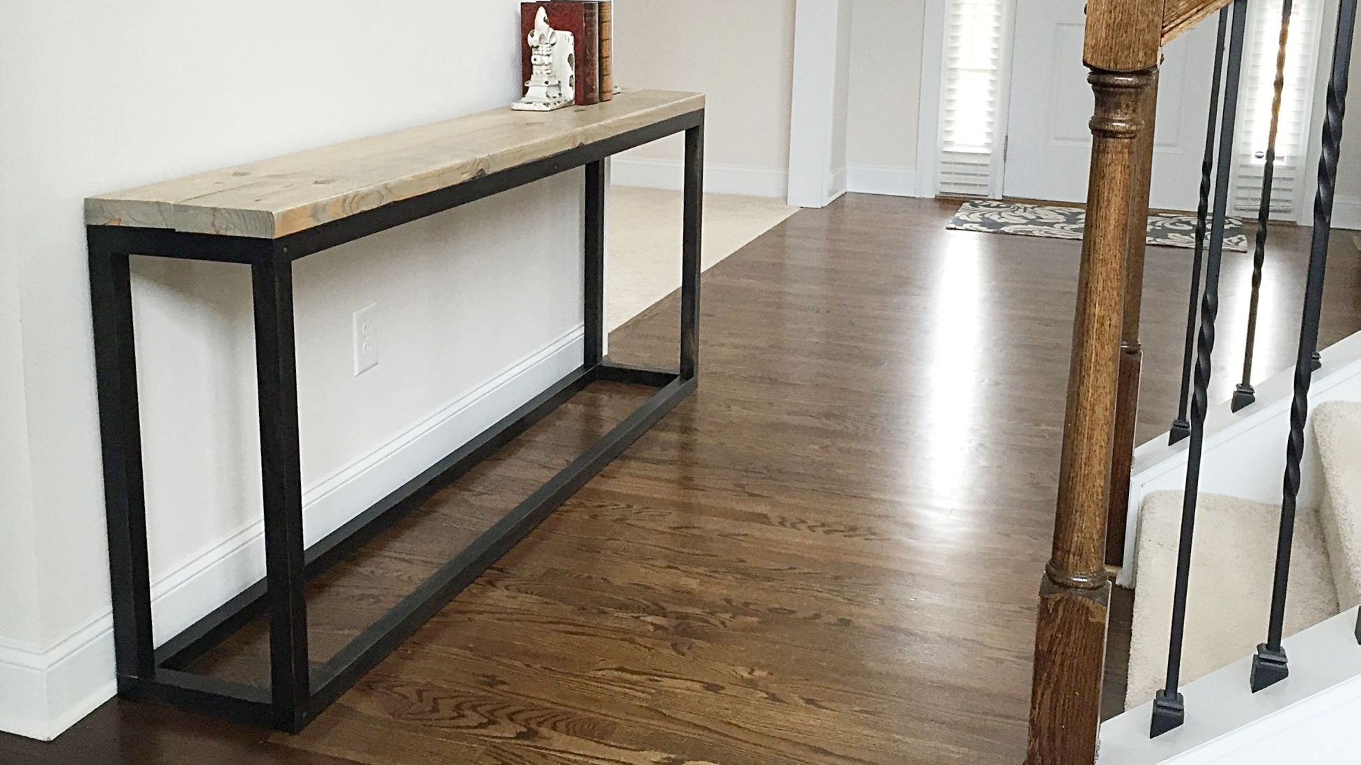 Industrial console table.JPG