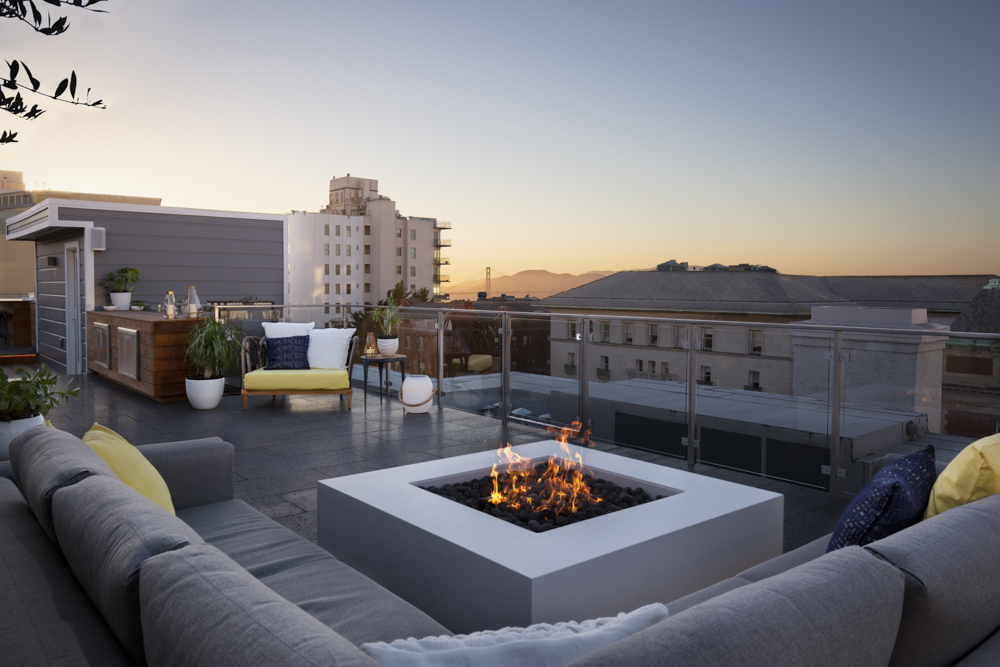 Pacific Heights Roof Deck