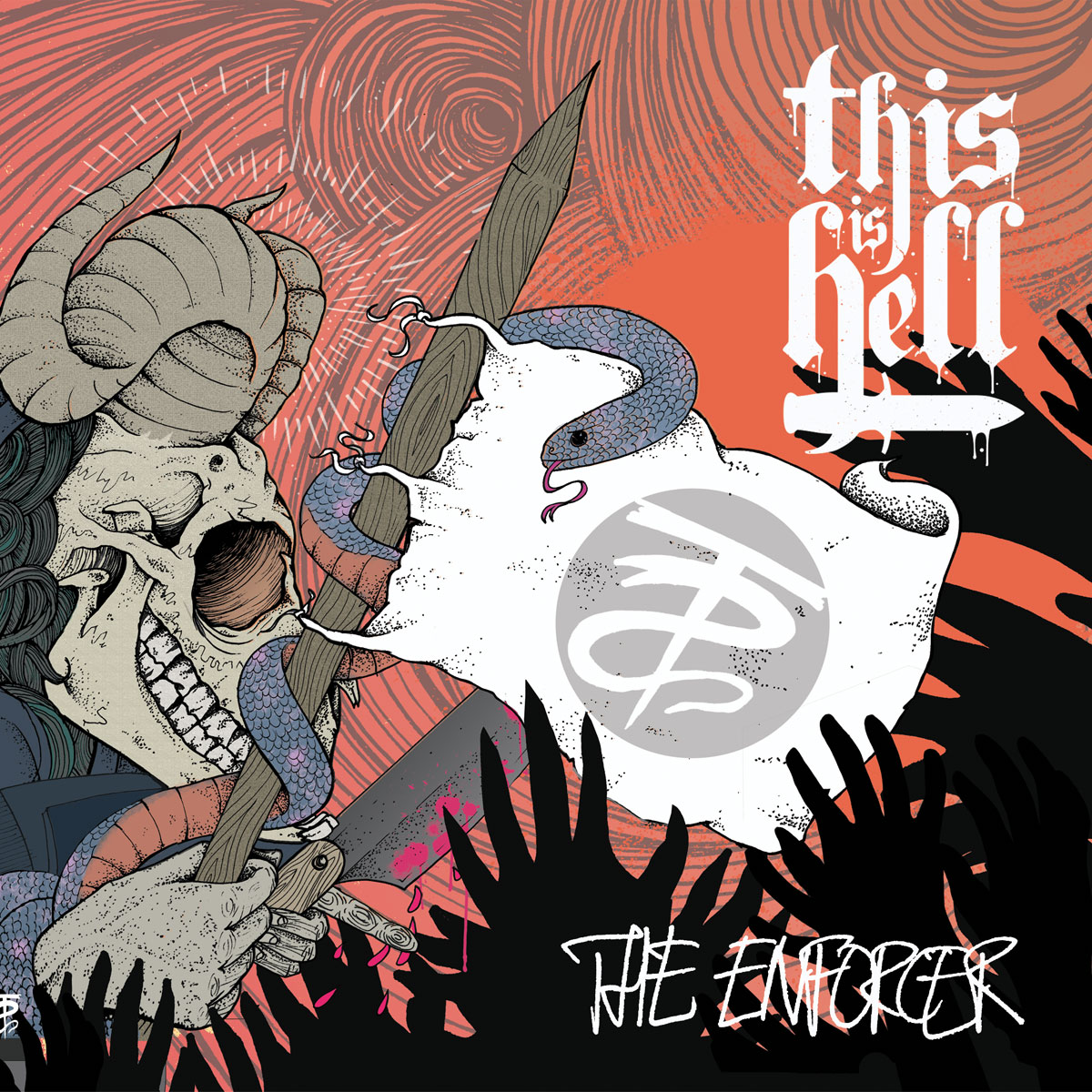 "It's Monday, and we have news that doesn't suck! We're releasing a brand new 7"" from This is Hell! ""The Enforcer"" is out on 2/19 and is limited to 500 copies (300 red, 200 clear). Listen to the title track on  Revolver Magazine's website .     Pre-order the 7"" in our webstore .   Catch the band on tour:   01/21/13 – Baltimore, MD @ Charm City Art Space  01/22/13 – Fayettville, NC @ The Drunk Horse Pub (w/ EVA)  01/23/13 – Atlanta, GA @ Masquerade (w/ EVA)  01/24/13 – Augusta. GA @ Sector 7G (w/ EVA)  01/25/13 – Savannah, GA @ Taco Abajo (w/ EVA)  01/26/13 – Jacksonville, FL @ Phoenix Taproom (w/ EVA)  01/27/13 – Orlando, FL @ Backbooth (w/ letlive.)  01/28/13 – Spartanburg, SC @ Ground Zero (w/ letlive.)  01/29/13 – Wilmington, NC @ Soapbox (w/ letlive.)  01/30/13 – Richmond, VA @ Kingdom (w/ letlive.)  01/31/13 – West Springfield, VA @ Empire (w/ letlive.)  02/01/13 – Brooklyn, NY @ Saint Vitus (w/ letlive.)  02/02/13 – Amityville, NY @ The Spotlight (w/ letlive.)  02/04/13 – Cambridge, MA @ The Sinclair (w/ letlive.)  02/05/13 – Danbury, CT @ Heirloom Arts (w/ letlive.)  02/06/13 – Montreal, QC @ La Sala Rossa (w/ letlive.)  02/07/13 – Ottawa, ON @ Mavericks (w/ letlive.)  02/08/13 – London, ON @ Call The Office (w/ letlive.)  02/09/13 – Pittsburgh, PA @ Smiling Moose (w/ letlive.)  02/10/13 – Toledo, OH @ Frankies (w/ letlive.)  02/20/13 – Honolulu, HI @ Hawaiian Brian's  02/23/13 – Brisbane, AUS @ RNA Showgrounds (w/ Soundwave)  02/24/13 – Sydney, AUS @ Olympic Park (w/ Soundwave)  03/01/13 – Melbourne, AUS @ Flemington Racecourse (w/ Soundwave)  03/02/13 – Adelaide, AUS @ Bonython Park (w/ Soundwave)  03/04/13 – Perth, AUS @ Claremont Showground (w/ Soundwave)  03/06/13 – Auckland, NZ @ Zeal Art Room  03/08/13 – Medan, Indonesia @ USU Student Hall  03/09/13 – Kuala Lumpur, Malaysia @ Black Box (w/ Sick Of It All)  03/10/13 – Singapore, Singapore @ Emily Hill  03/12/13 – Bangkok, Thailand @ Immortal Bar  03/16/13 – Grand Prairie, TX @ South By So What Festival  04/13/13 – Toledo, OH @ Jamboree Festival"