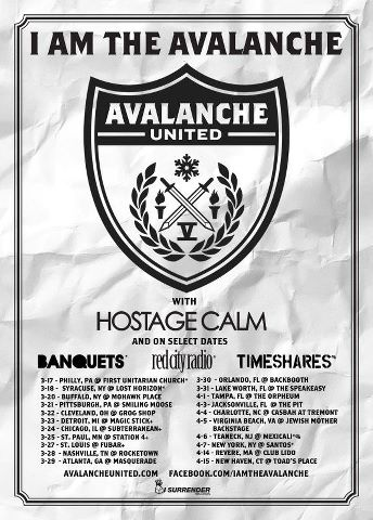 New I Am the Avalanche tour dates! What show are you going to?