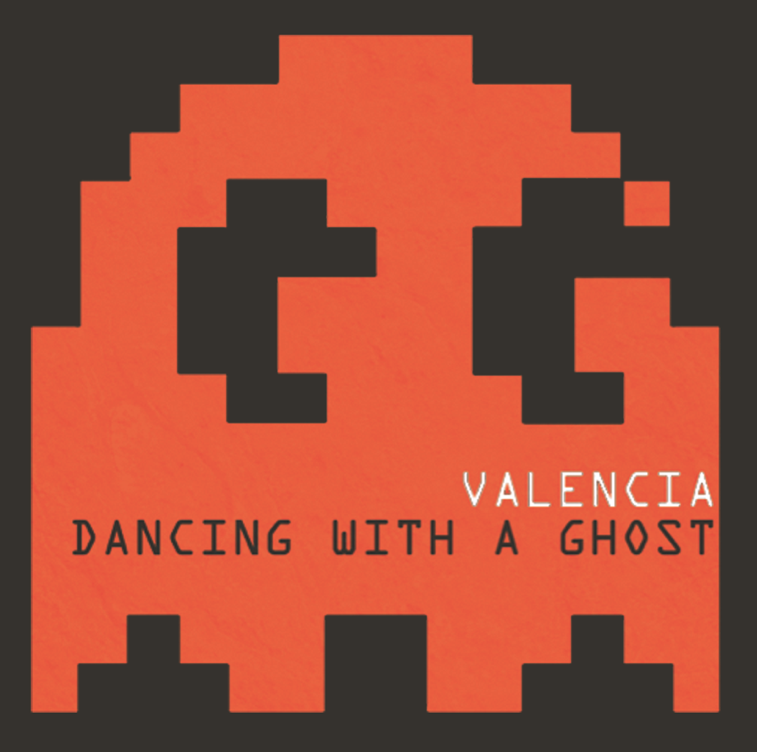 """Dancing With A Ghost,"" the title track off Valencia's new album has danced its way  onto iTunes . That is the worst pun on the planet, if it could even be called that. Metaphor? Whatever, we're trying to tell you that you can now download the song on iTunes,  grab it here !"