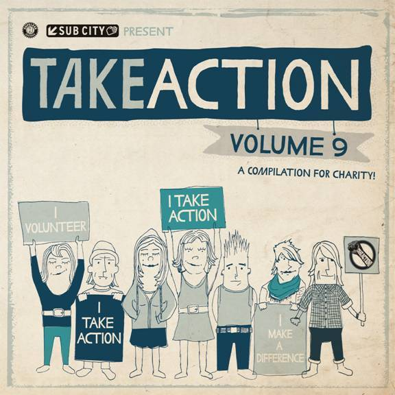 """The band is going to be featured on the Take Action Compilation! The album is in stores on February 9th, but you can pre-order right now at Takeactiontour.com .  Proceeds will go towards Patrick Pedraja and his organization Driving For Donors. Patrick was 10 when he was diagnosed with Leukemia. He is 15 now and his organization raises money and signs people up for the National Bone Marrow registry list, which helps save lives of people with Leukemia. Do your part to help and make sure to check out """"Northward Winds Were Bound To Happen"""" on the compliation. Pre-order your copy today!"""