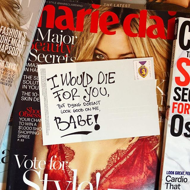 NEXT! 💁♀️ . . . . . . . . . . . . . . . . . . . . #postcards #postcardswap #magazines #magazinecover #women #badass #quotes #writersofinstagram #writer