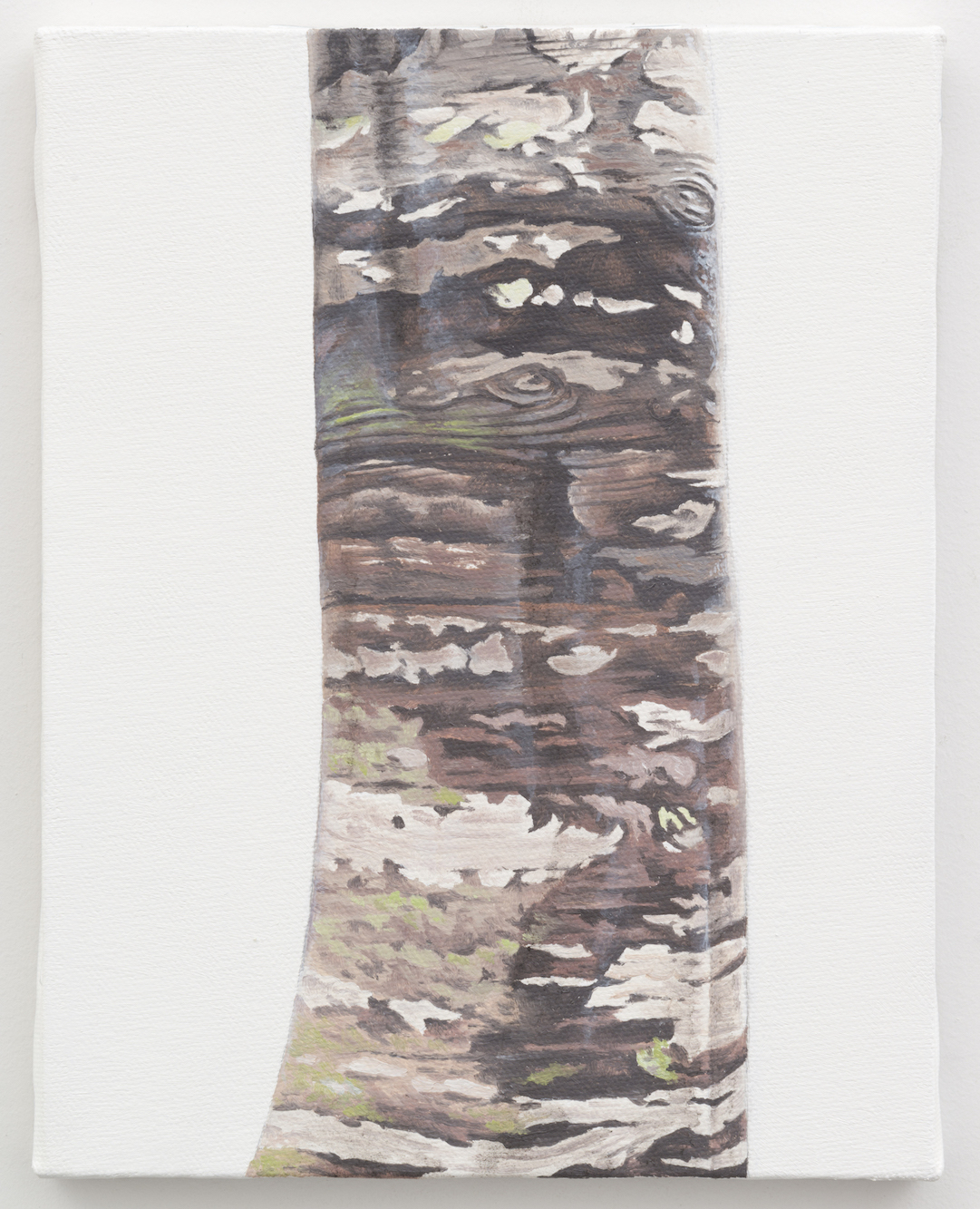 """Trunk No. 14,  2013,  oil on canvas 8 7/8"""" x 6 7/8"""""""