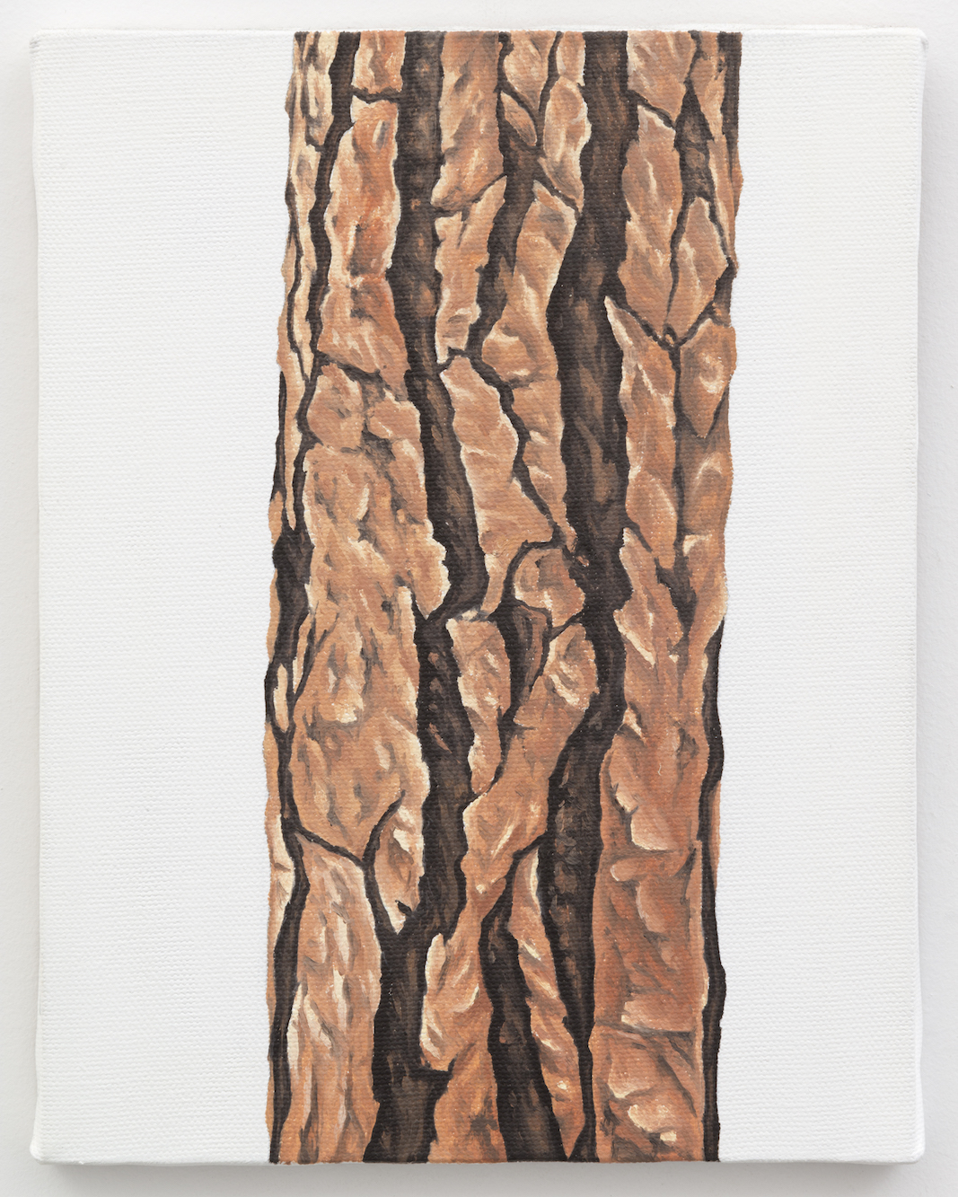 """Trunk No. 5,  2013,  oil on canvas 8 7/8"""" x 6 7/8"""""""
