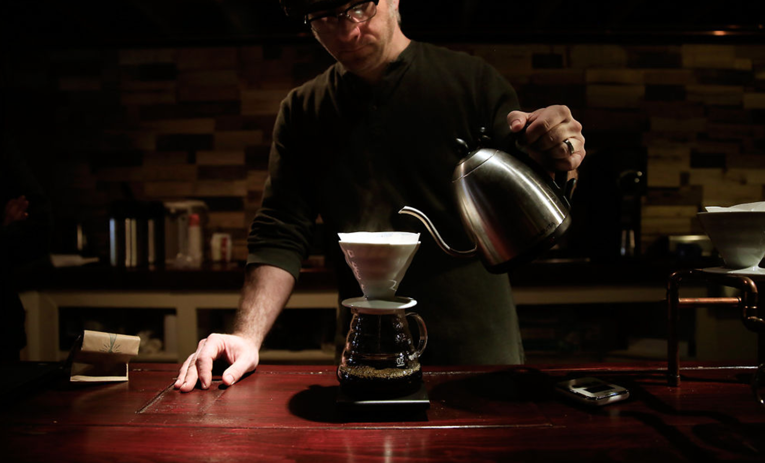 Shortwave Coffee finds niche in Columbia specialty coffee community - April 2014