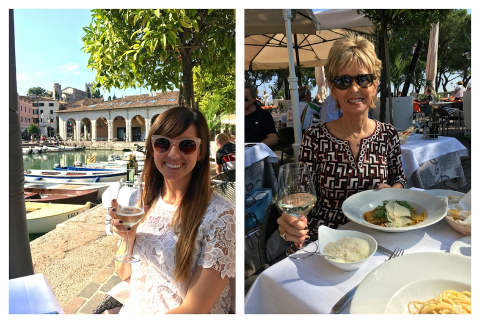 Desenzano, Lake Garda - The town we first stayed in