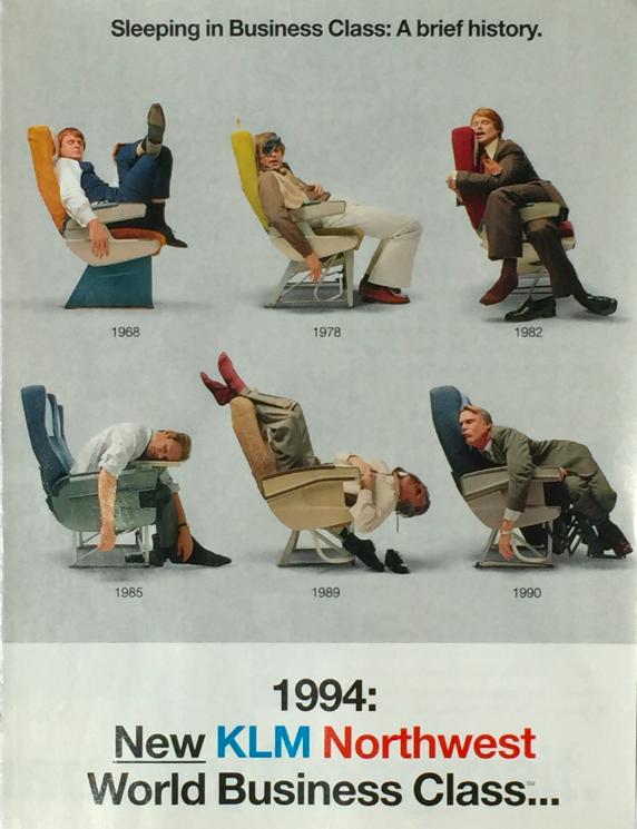 KLM Northwest advert