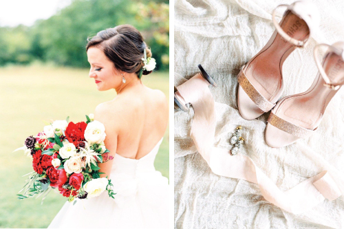 Gorgeous fall wedding at White Sparrow Barn in Quinlan, Texas