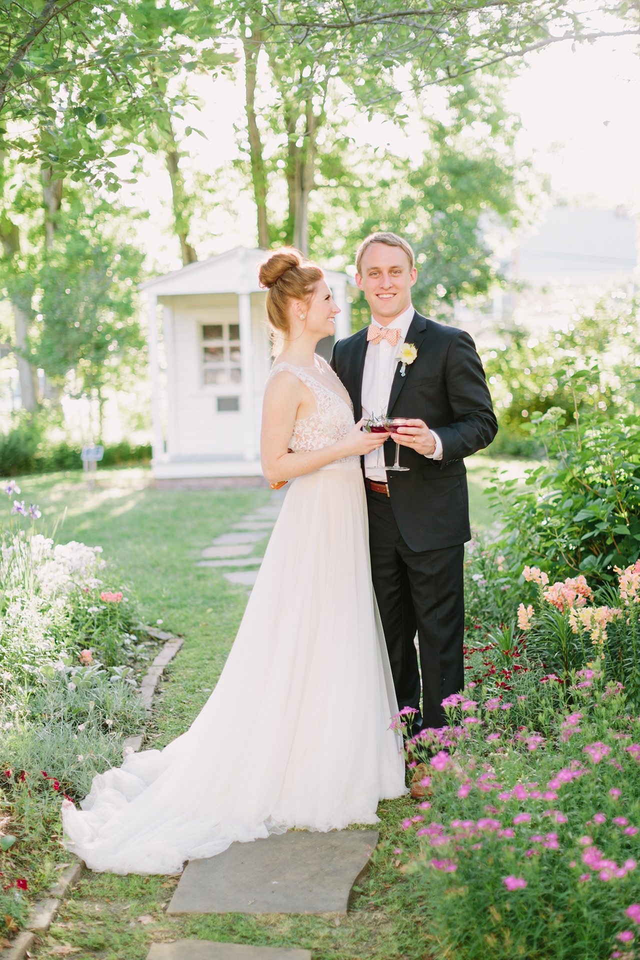 Curran Hall Summer wedding inspiration in Little Rock, Arkansas