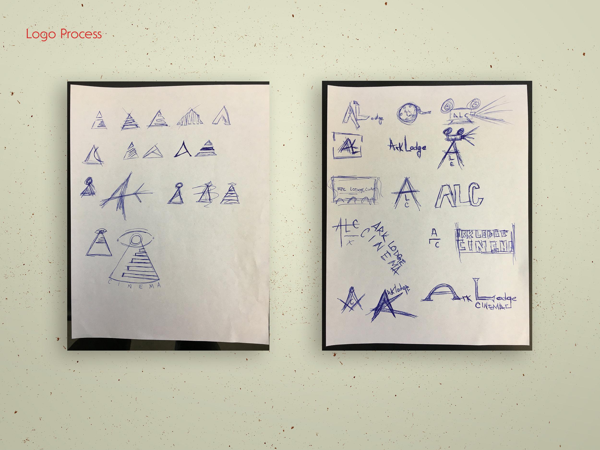 Sketches by Gabriel Herrin