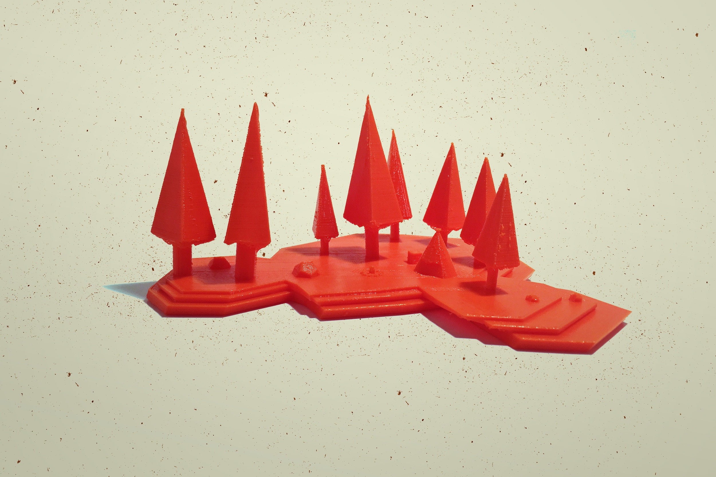3D Print Model of the Camp
