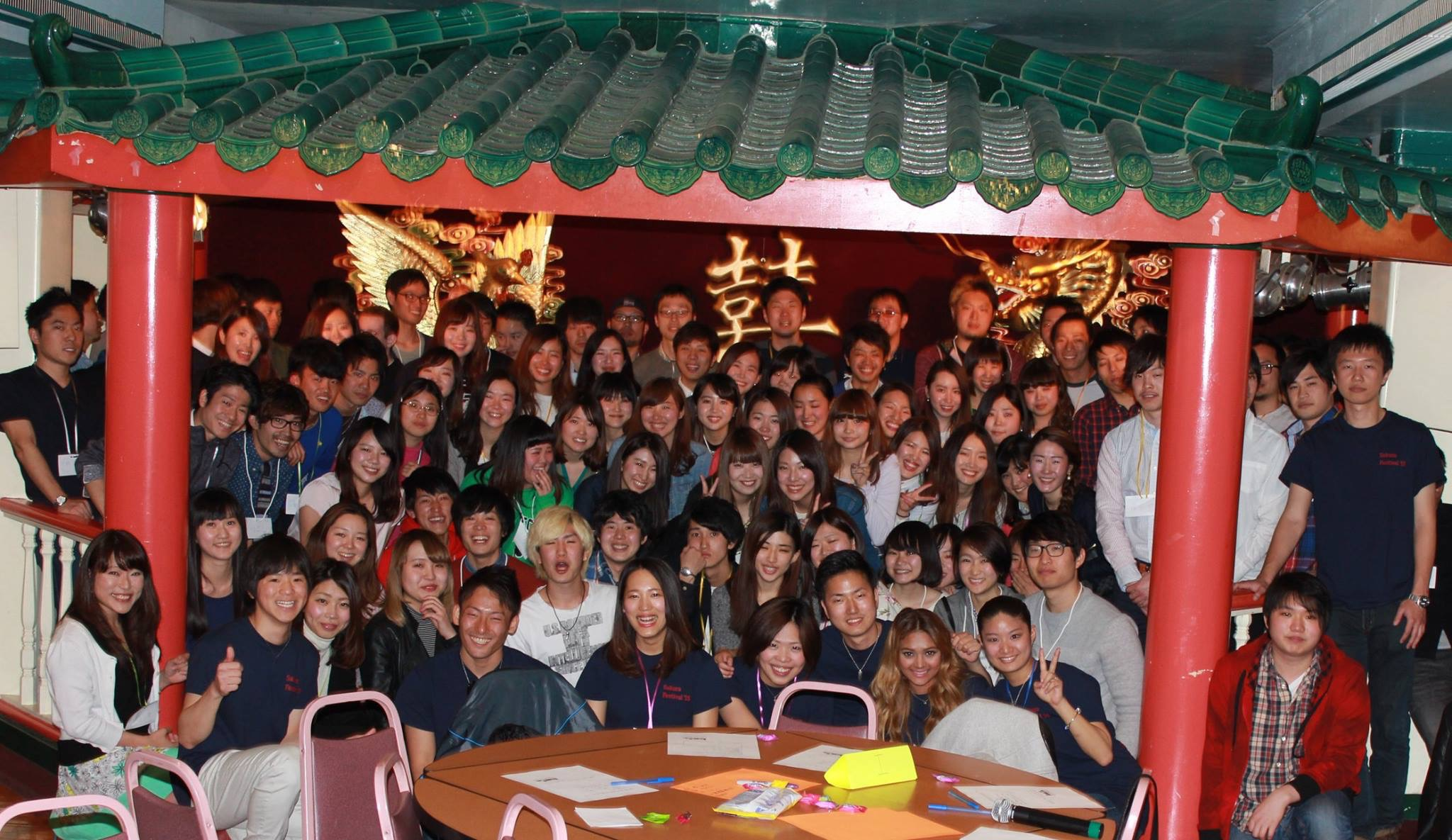 大学の日本人学生会の立ち上げに携わり、初めてのイベントで100人以上の参加者を集めた