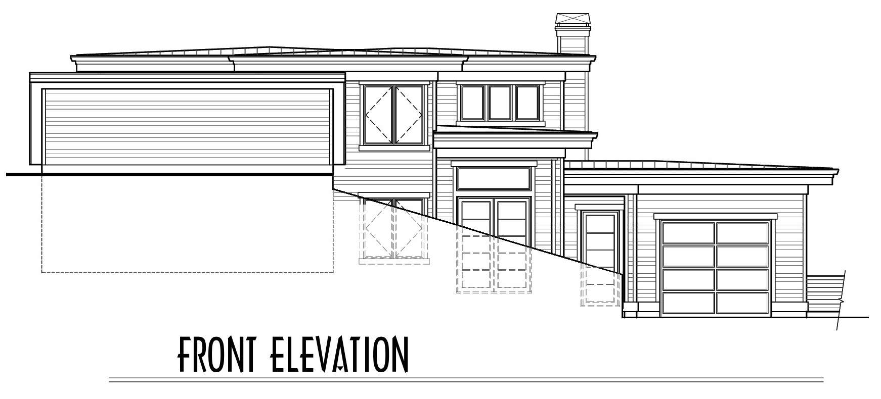 Awbrey Pointe - Lot 13 - Custom Duplex (PS-1550-18) - Final Plan SET-Front Elevation Sales.jpg