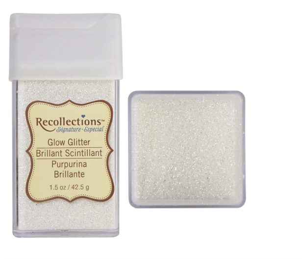 Michaels Recollections Signature Glow Glitter