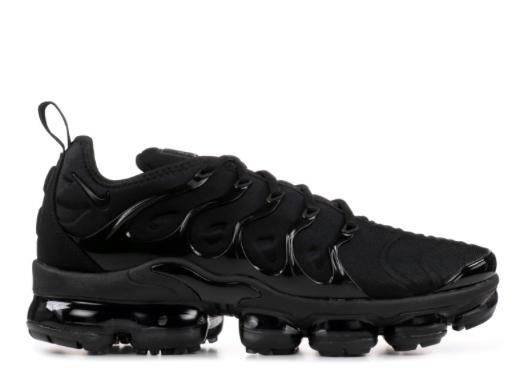 Black Nike Air Vapormax Plus