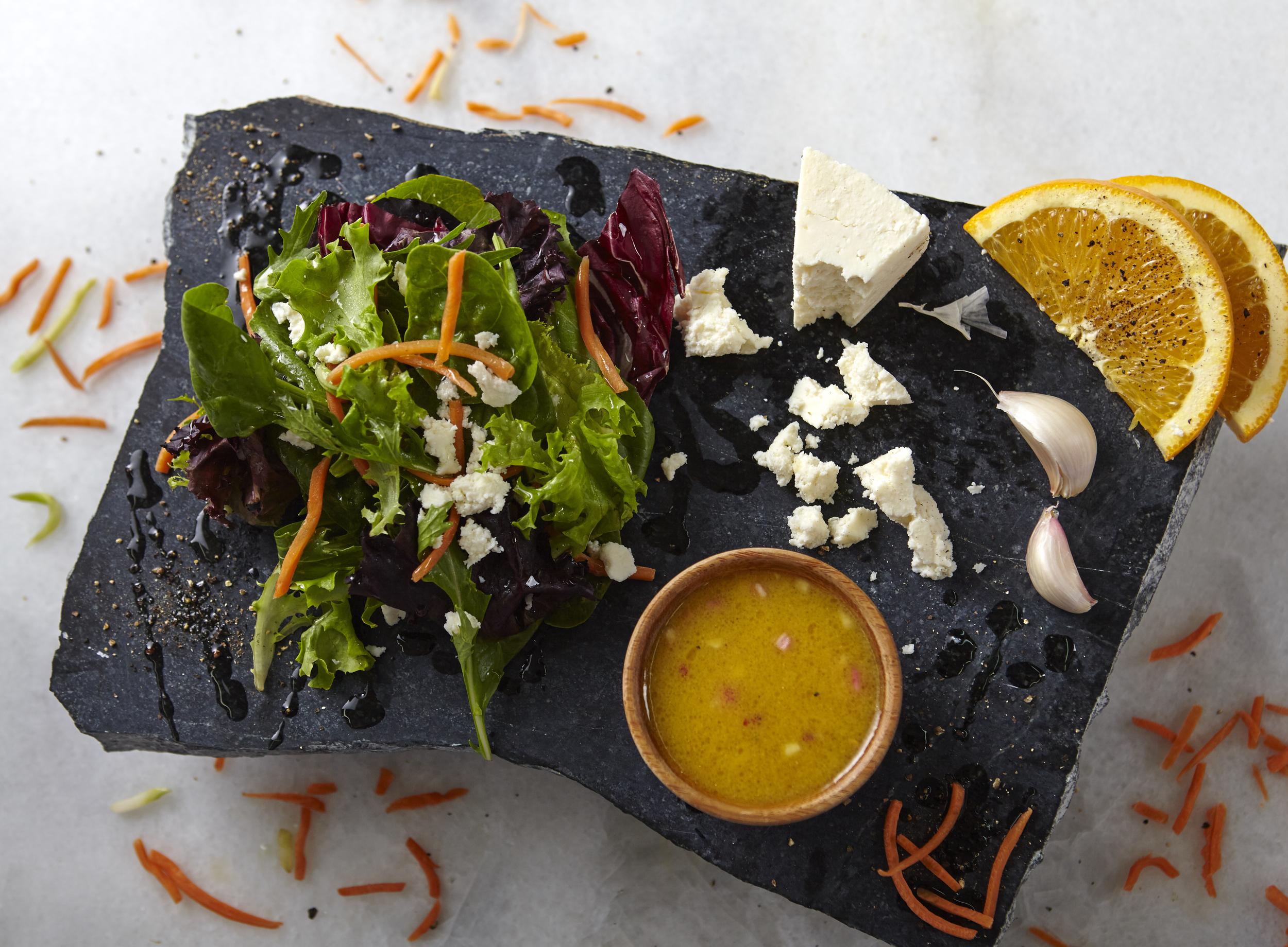Salad n Cheese n Orange