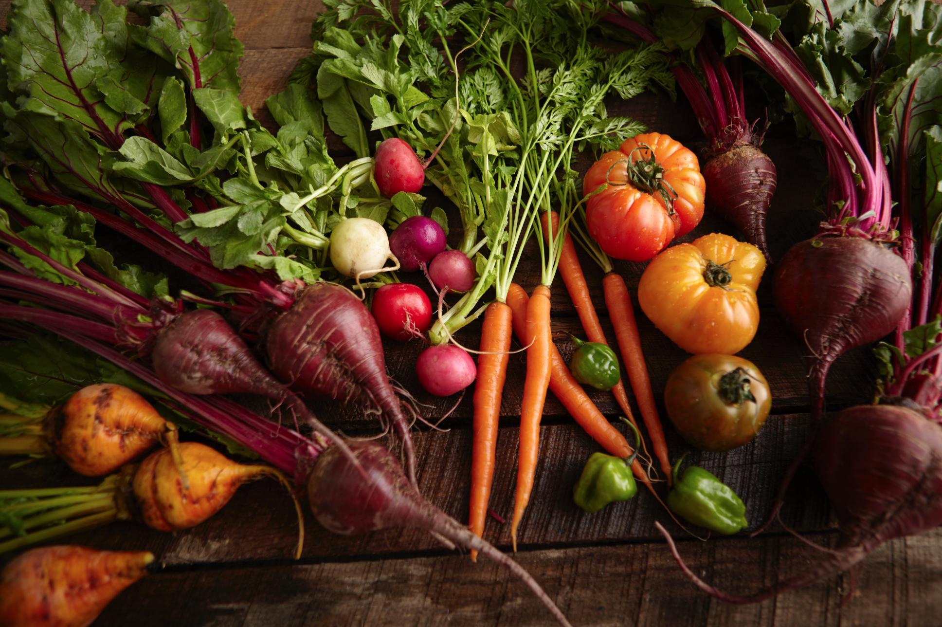 veggies fresh