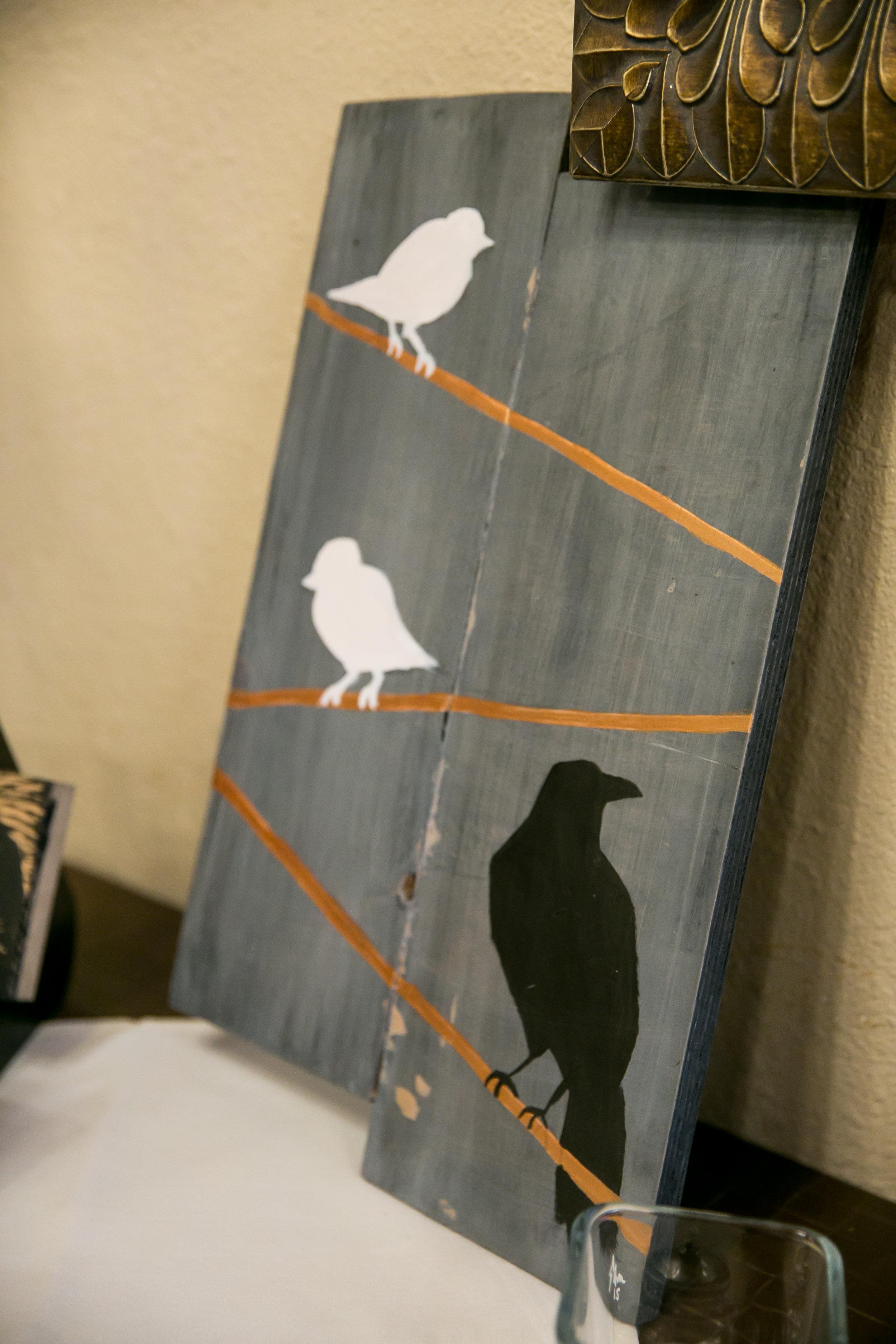 Artist: Samuel Silva  Website: www.birdsofthefather.org  Instagram: @birdsofthefather