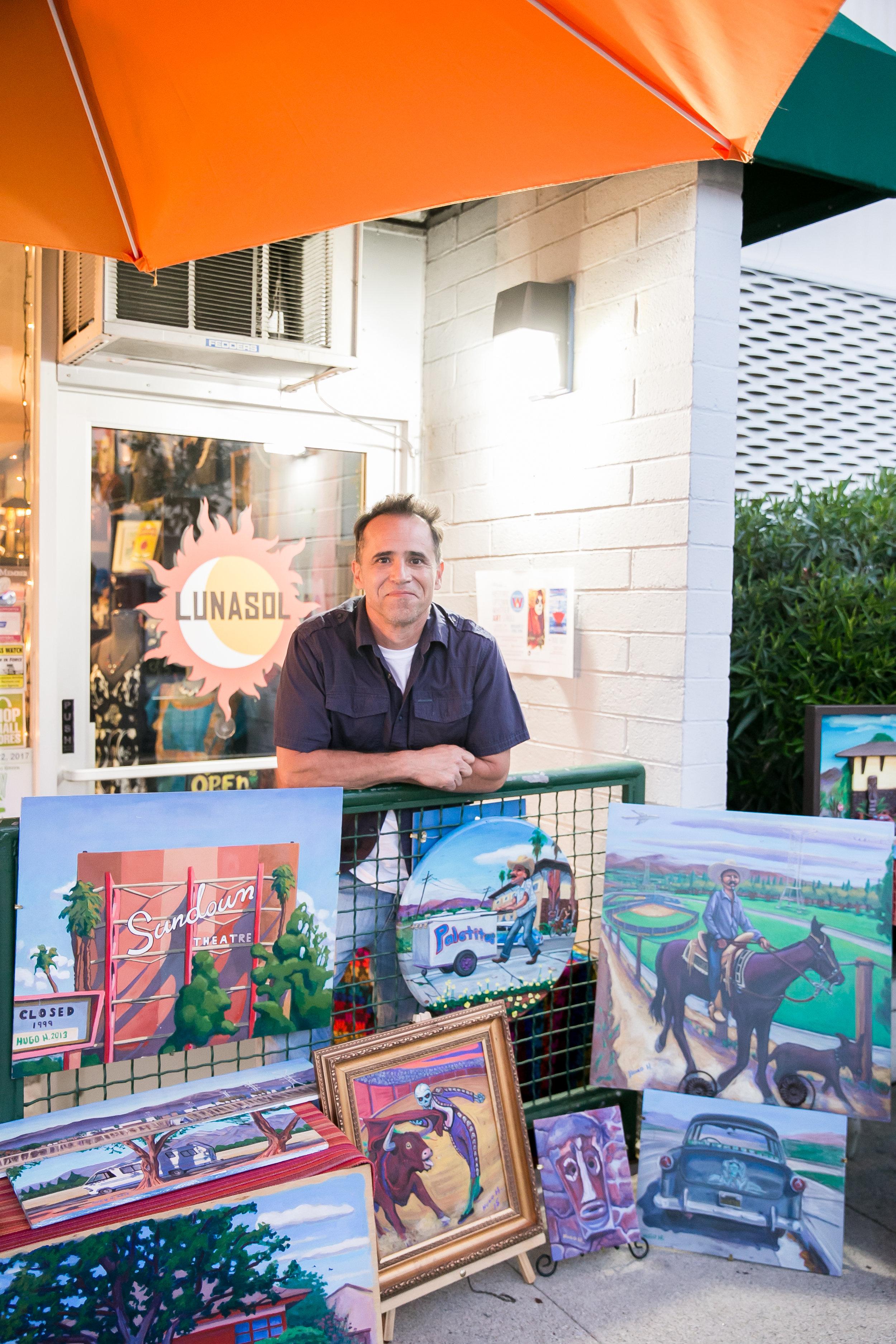 Artist: Hugo Hidalgo  Website: www.misamigos.com