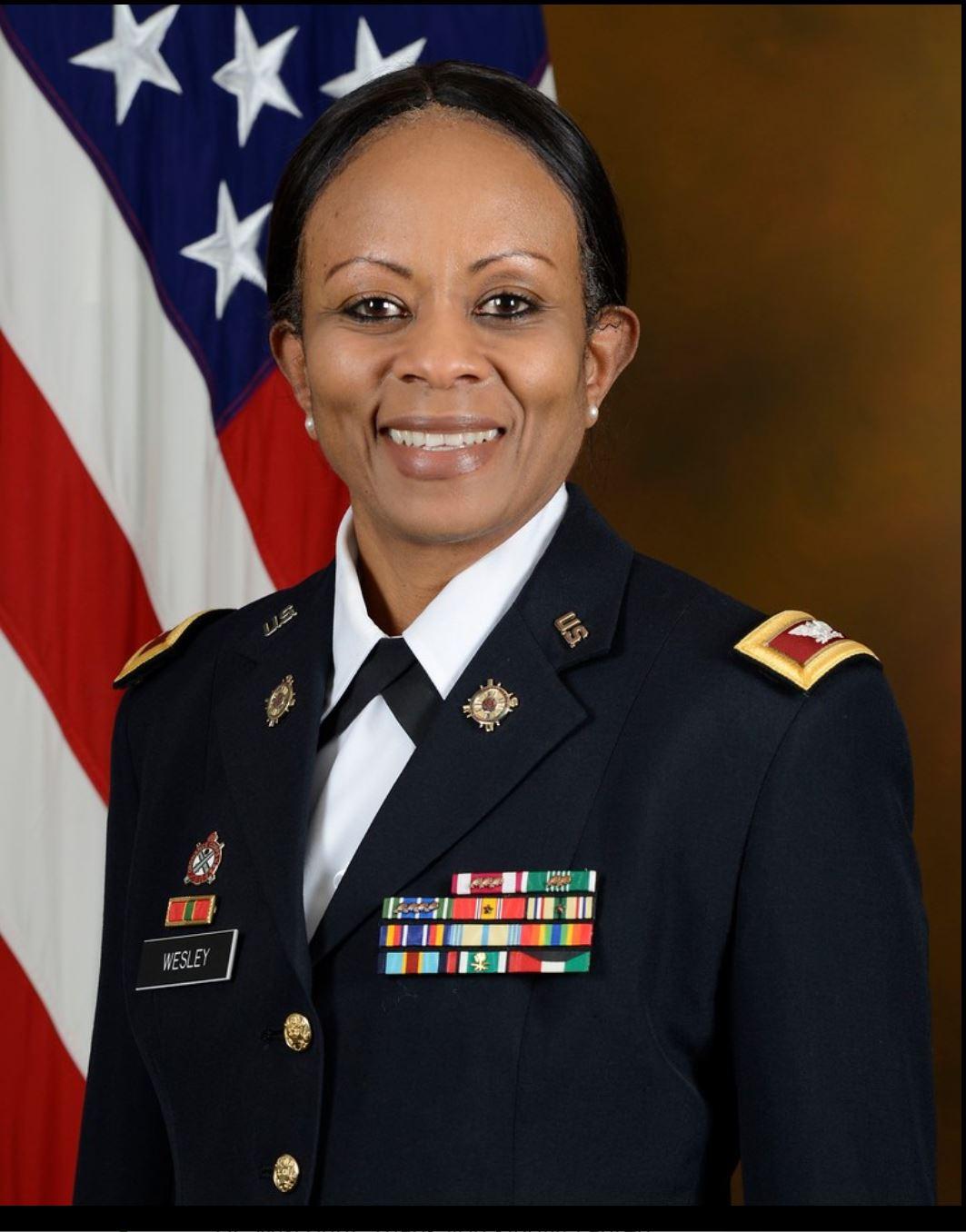 Colonel Jennifer Wesley JROTC Senior Commander   Email : jennifer.wesley@k12.dc.gov  Room 3172    Bio