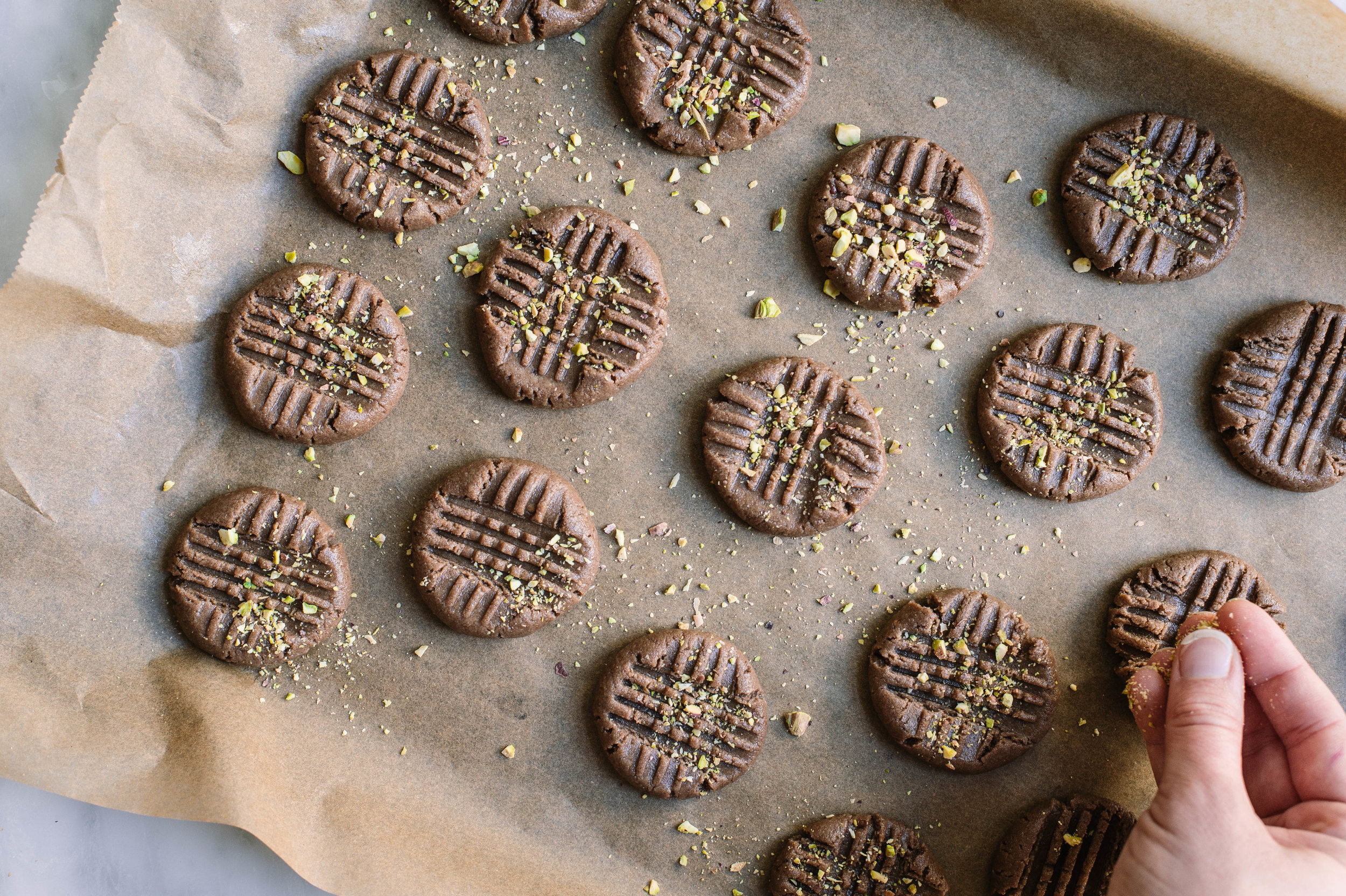 Teff tahini cookie