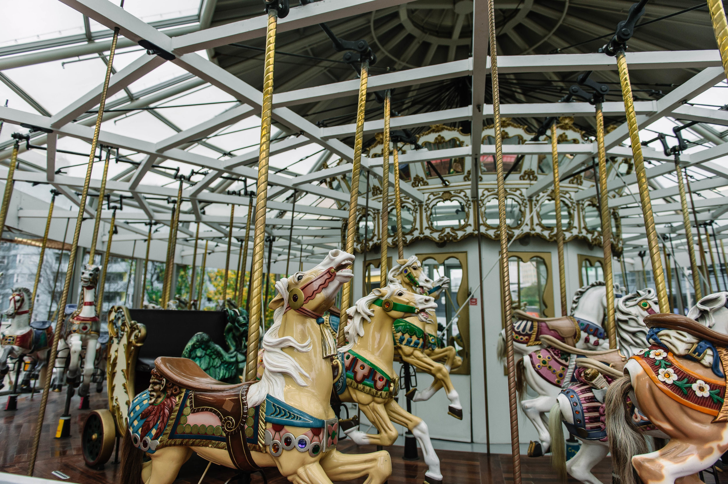The Carousel at the Children's Creativity Museum