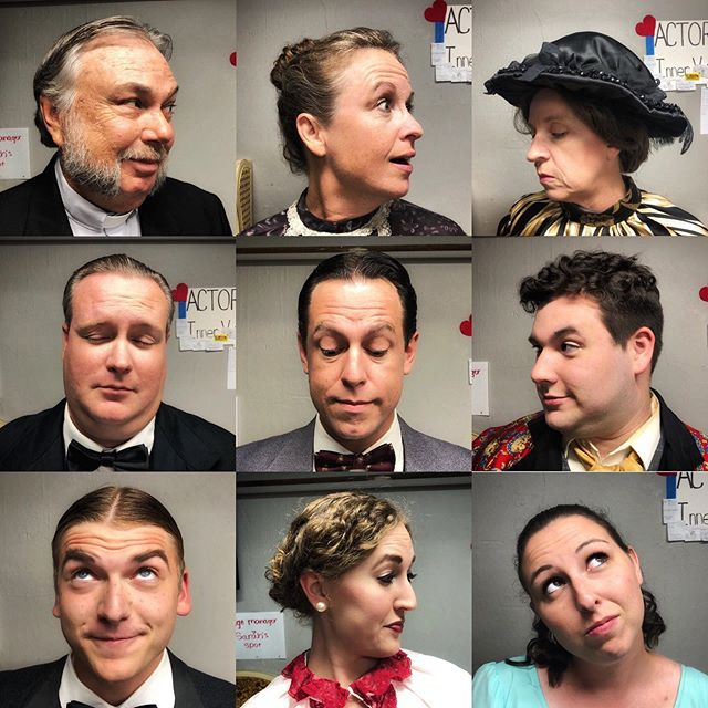 """""""The Earnest Bunch"""" Come to the LAST SHOW of this amazingly funny show on Sunday at 2! #grahamregionaltheatre  #theatre #thebradybunch"""