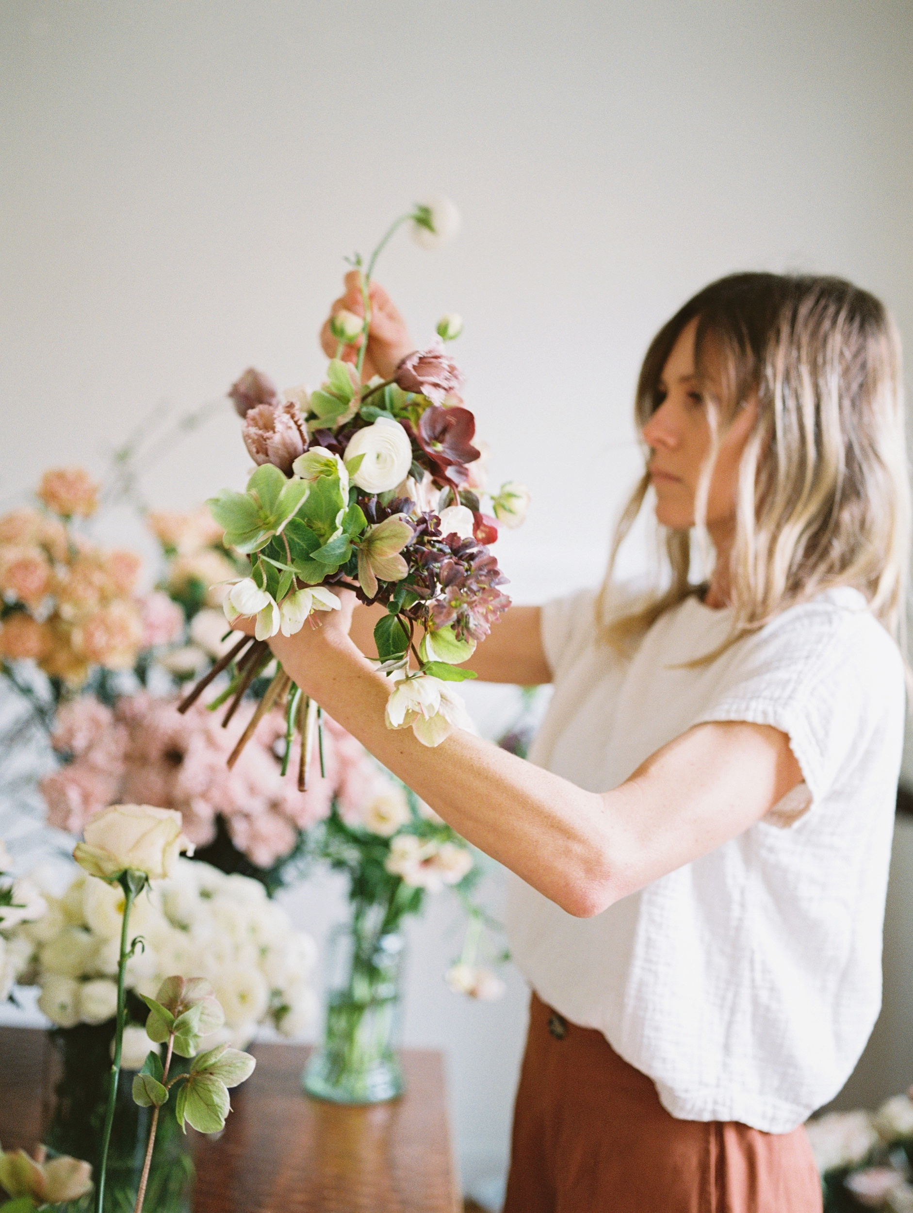 - With a background in horticulture, we're true plant lovers at heart. Inspired by the changing of the seasons and how plants grow on their own, our style is natural, wild and carefree. We source flowers from local and regional growers as well as our own, ever-growing cutting garden.