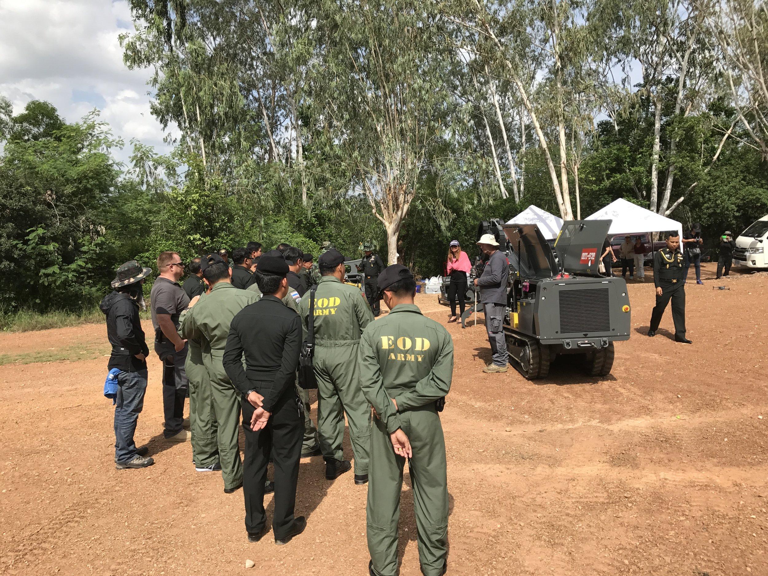 GCS-100 Demonstration in Ratchaburi