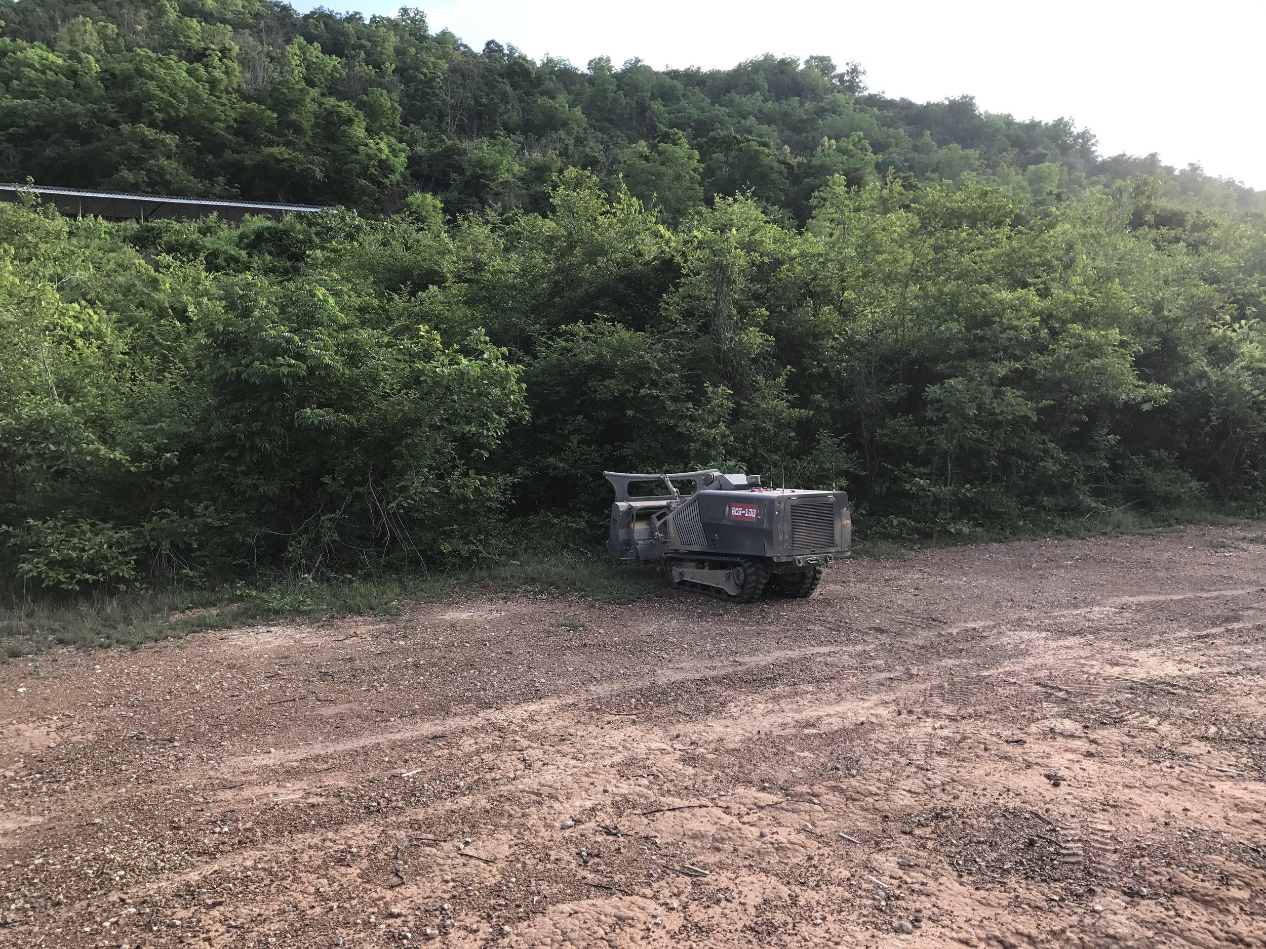 GCS-100 - Clearance of heavy dense vegetation