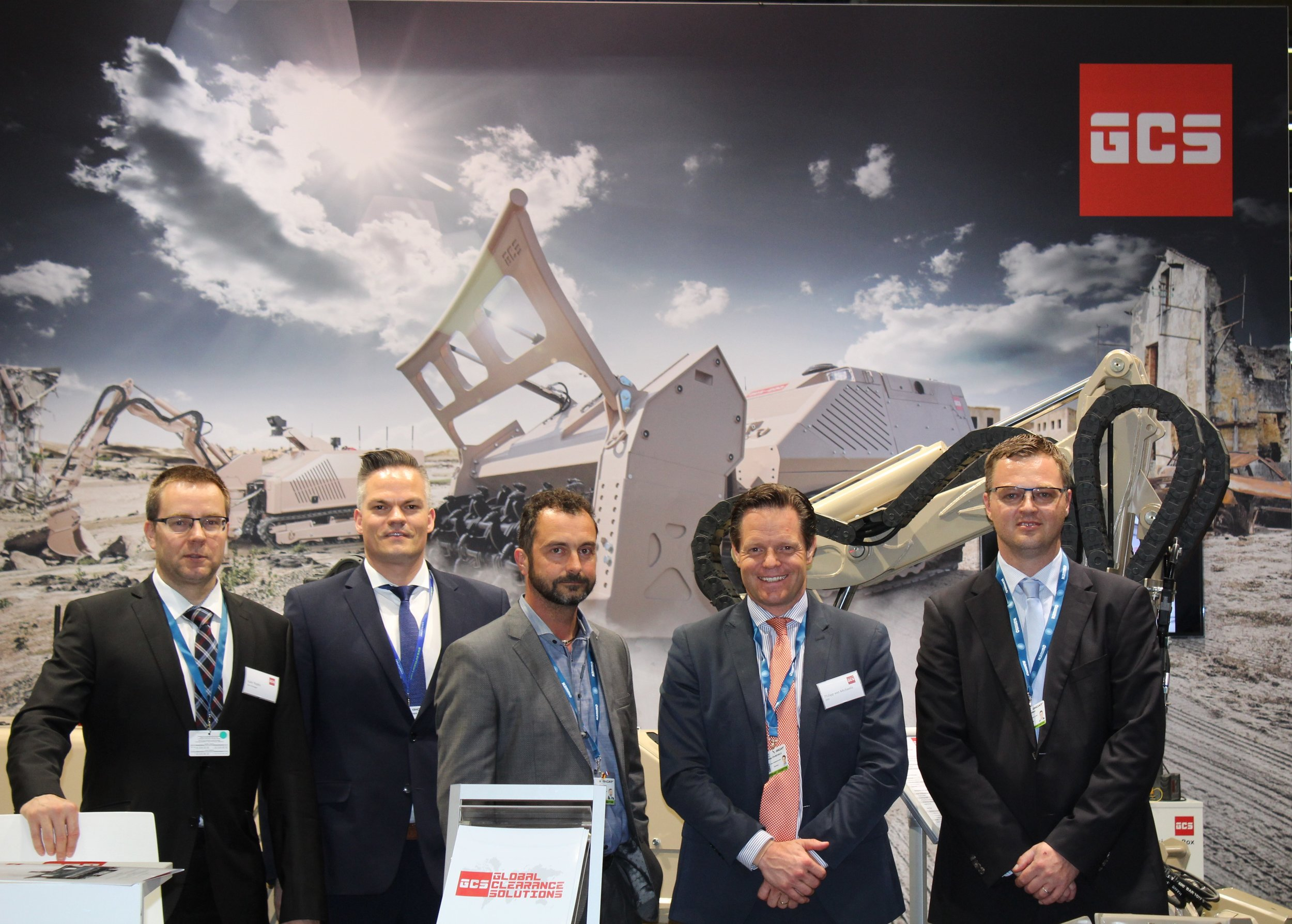 We would like to thank all visitors for coming to see us at EUROSATORY 2018 in Paris and we look forward to seeing you again very soon. Whatever your challenges are GCS is happy to assist you with our team of expert to find the most suitable solution.
