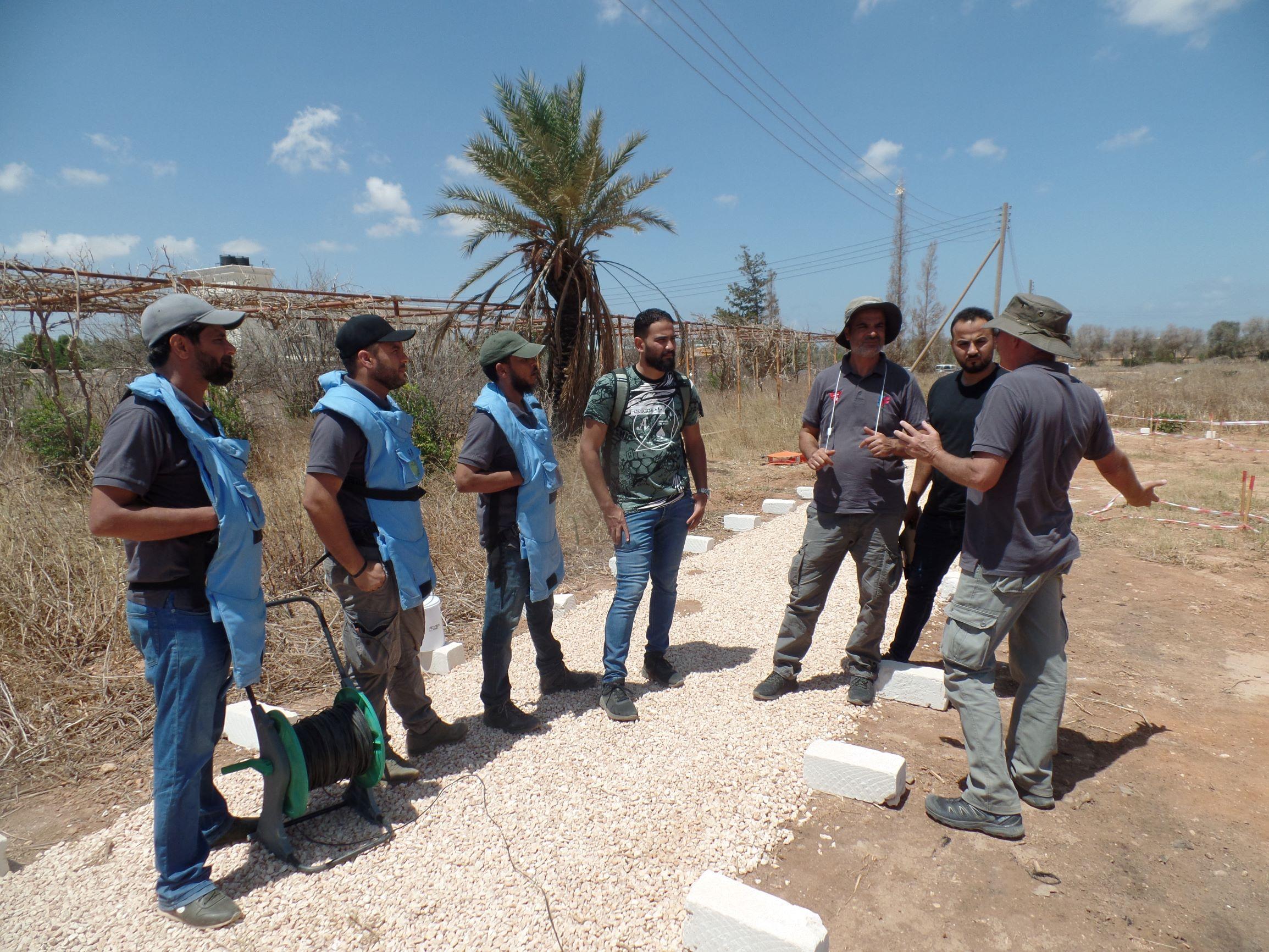GCS expert provides team training in Benghazi