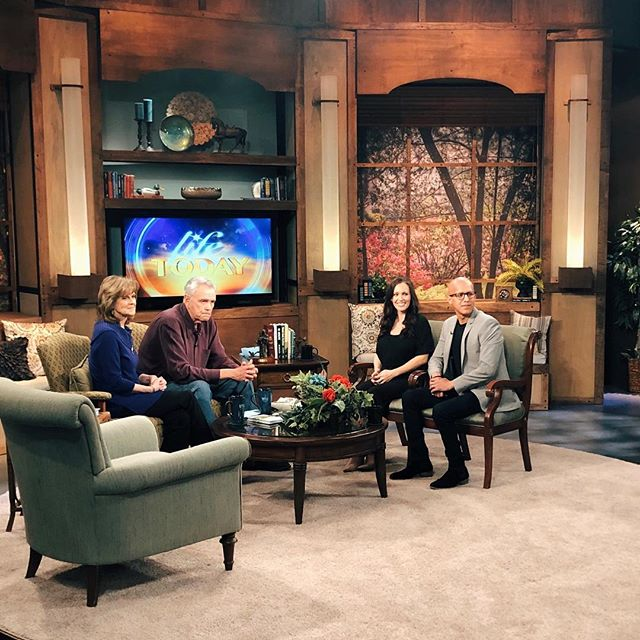 Good Morning! Just an update, the episode we shot for @lifetodaytv with James and Betty Robison will air on March 11. My husband and I are so grateful to have met these two! They are living examples of what it means to be two powerful, dedicated, and an on fire couple for God! Totally my new role models! They are amazing and remind me so much of my sweet Papa (in heaven) and loving nana (who thankfully is still here with me). Can't wait for this to air! I'll send out a reminder closer to the date. Just wanted to inform those who were asking.