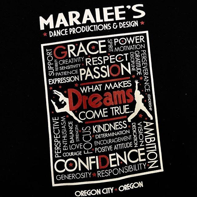 #portlandscreenprinting #oregoncity #alphapd #supportsmallbusiness #tshirts #portlandoregon #screenprinting #screenprinter #needshirts #yourlogohere #customtees #customtshirt #tshirtdesign #tshirtprinting #smallbusiness #dance #passion #grace #confidence #dreams #dreamscometrue #kindness #oregon