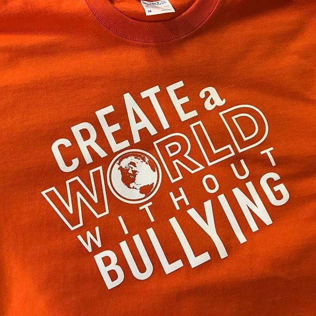 #nobullying #worldwithoutbullying #gardinermiddleschool #portlandscreenprinting #oregoncity #alphapd #supportsmallbusiness #tshirts #portlandoregon #screenprinting #screenprinter #needshirts #yourlogohere #customtees #customtshirt #tshirtdesign #tshirtprinting #smallbusiness