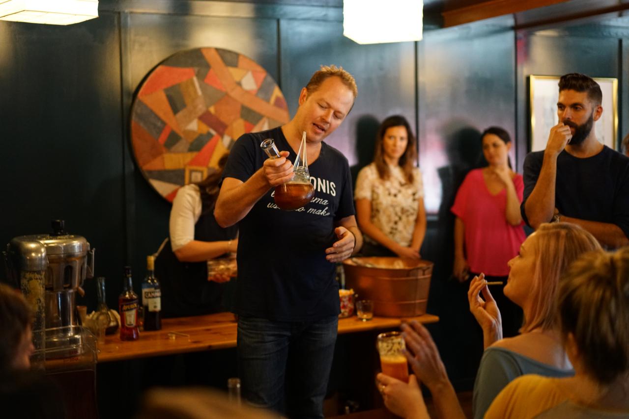 Cafe Dante delivers a seminar on the Aperitivo